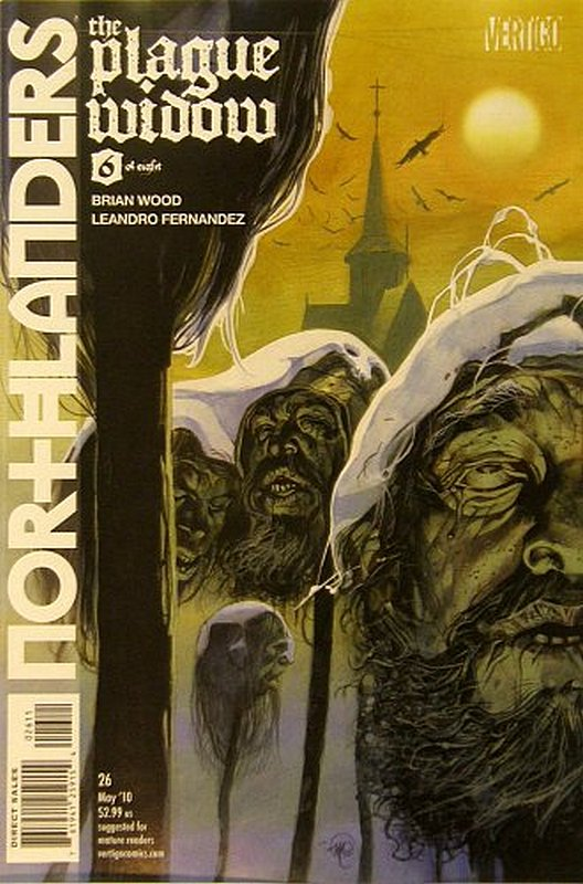 Cover of Northlanders (Vol 1) #26. One of 250,000 Vintage American Comics on sale from Krypton!