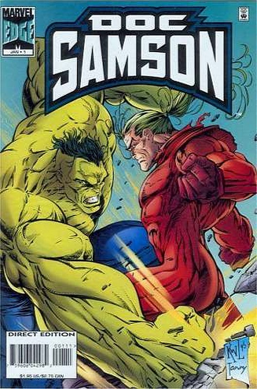 Cover of Doc Samson (1996 Ltd) #1. One of 250,000 Vintage American Comics on sale from Krypton!