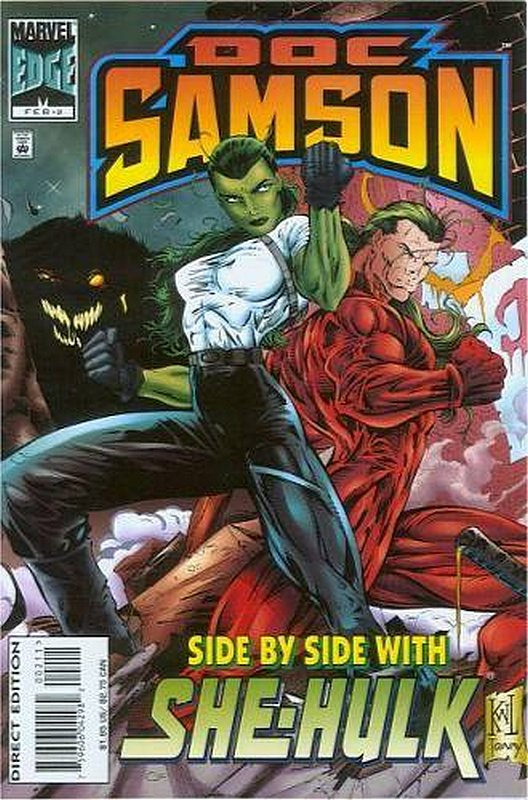 Cover of Doc Samson (1996 Ltd) #2. One of 250,000 Vintage American Comics on sale from Krypton!