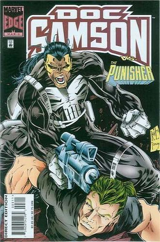 Cover of Doc Samson (1996 Ltd) #3. One of 250,000 Vintage American Comics on sale from Krypton!