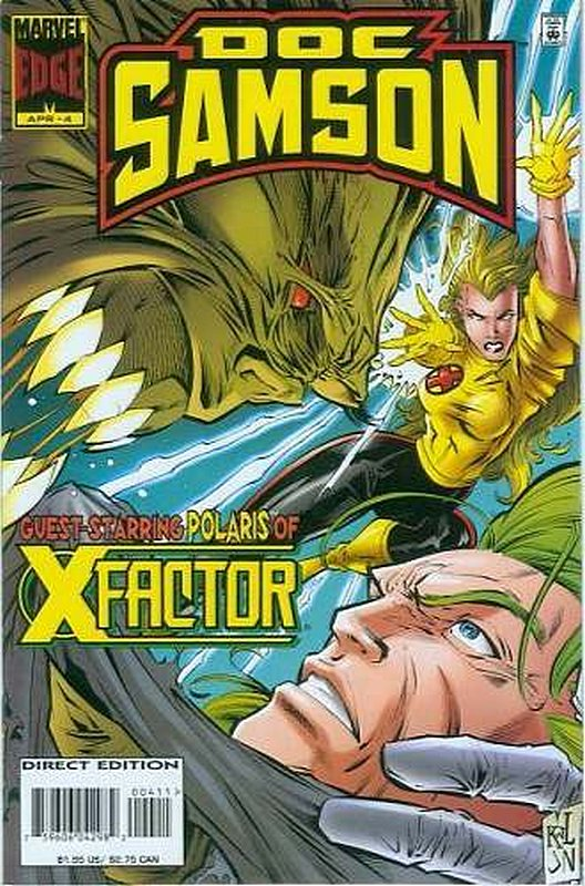Cover of Doc Samson (1996 Ltd) #4. One of 250,000 Vintage American Comics on sale from Krypton!