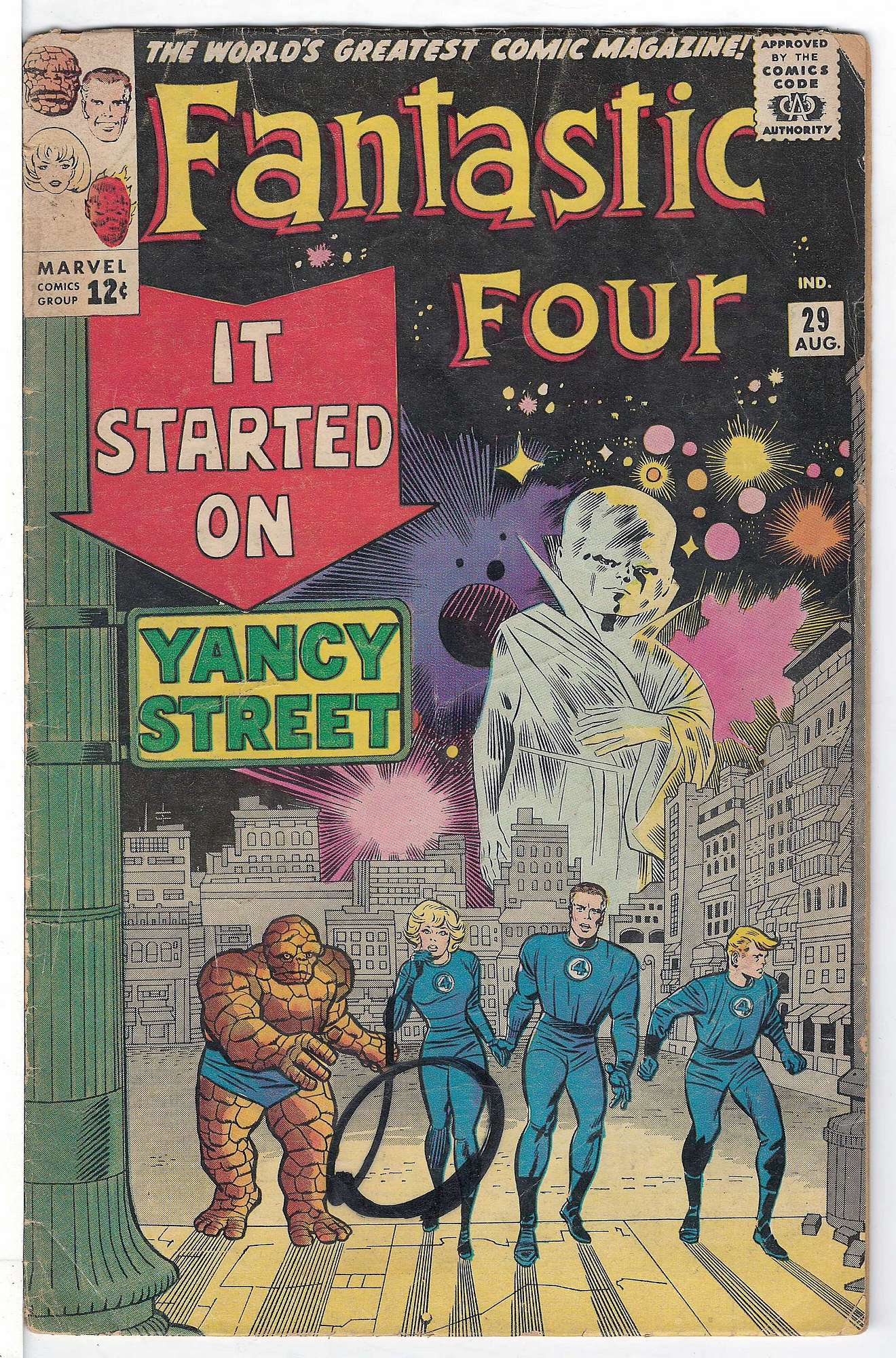 Cover of Fantastic Four (Vol 1) #29. One of 250,000 Vintage American Comics on sale from Krypton!