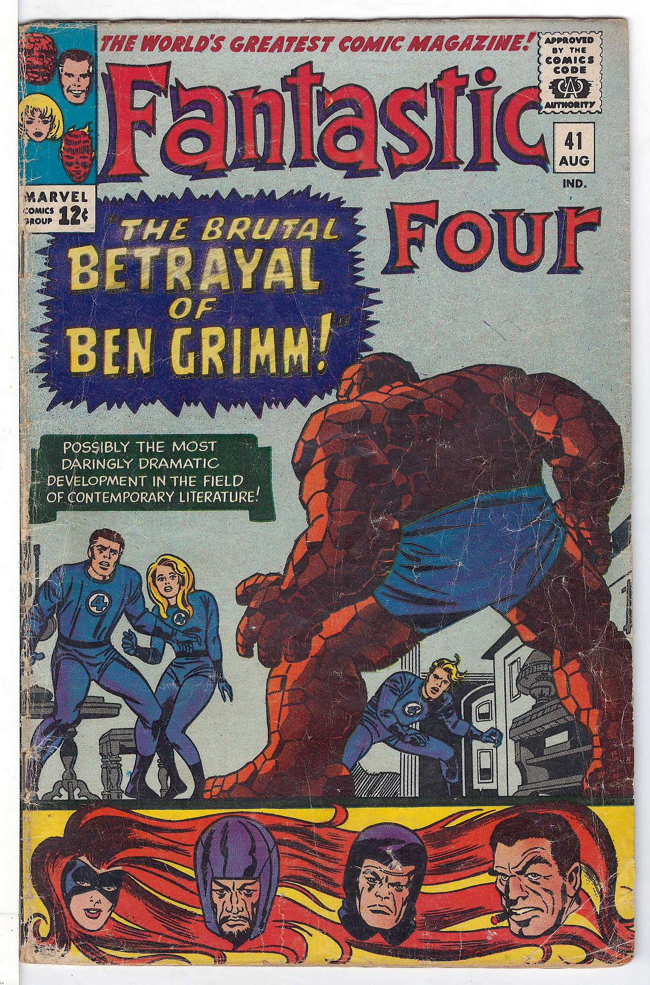 Cover of Fantastic Four (Vol 1) #41. One of 250,000 Vintage American Comics on sale from Krypton!