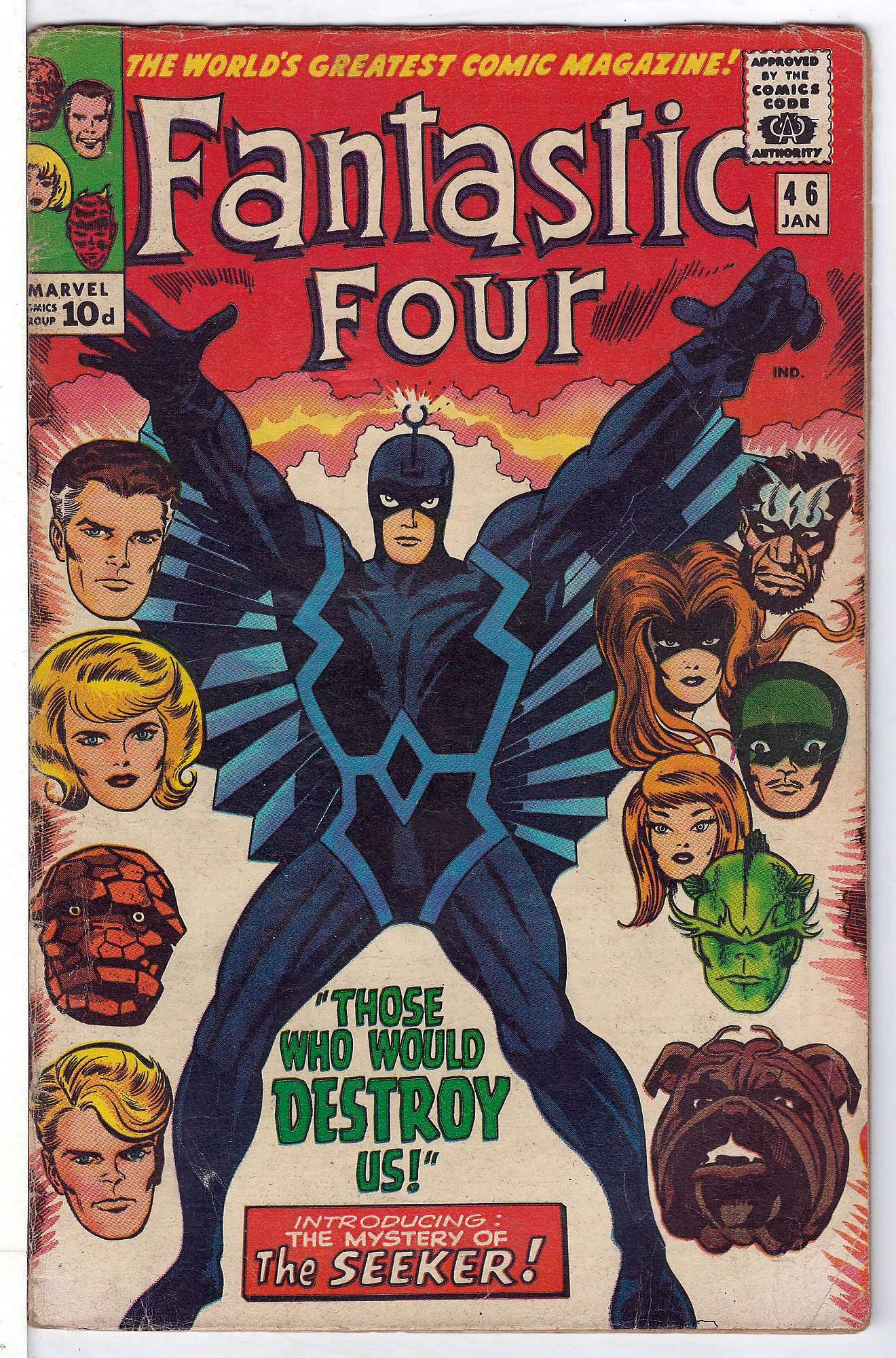 Cover of Fantastic Four (Vol 1) #46. One of 250,000 Vintage American Comics on sale from Krypton!
