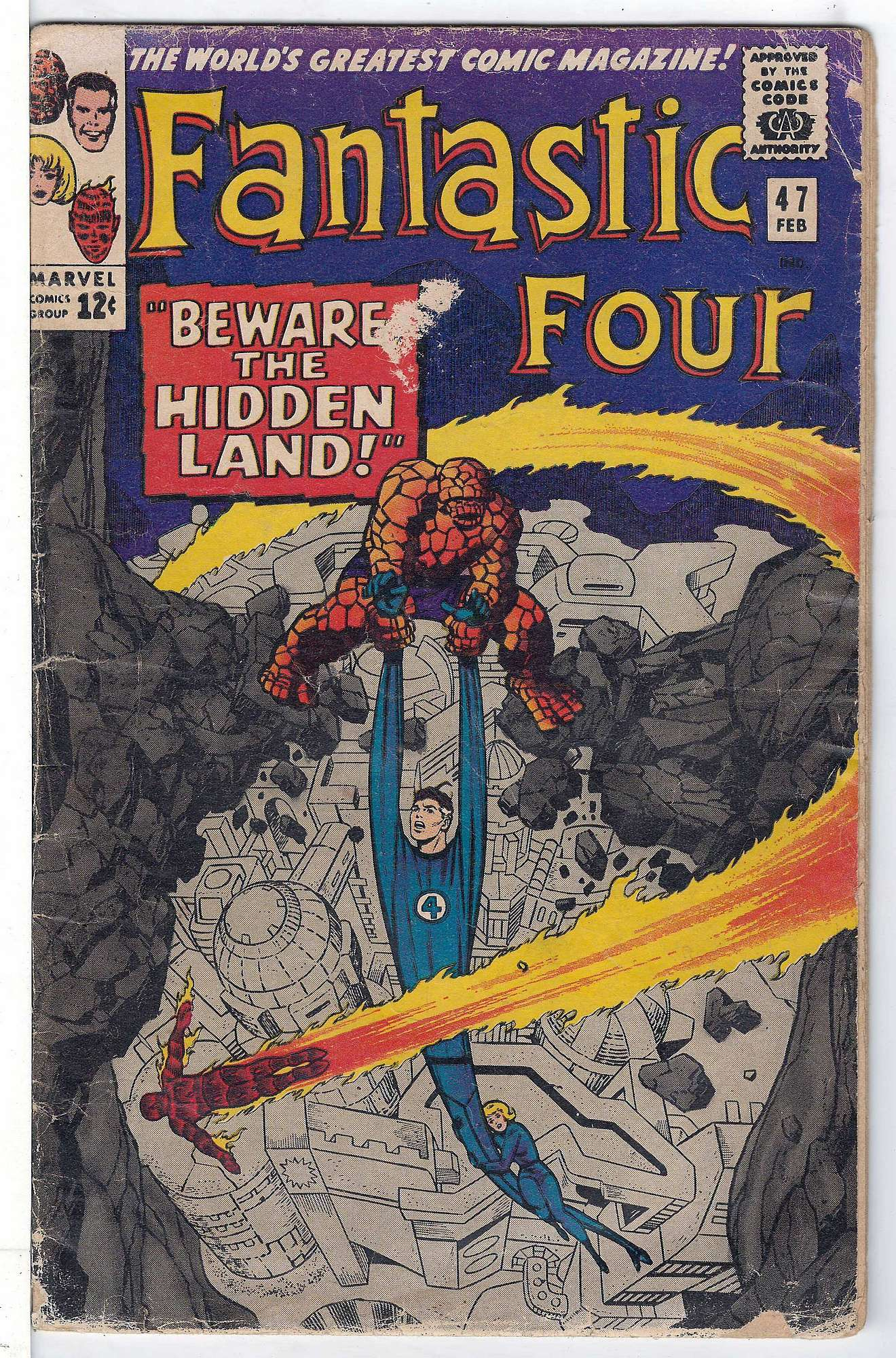 Cover of Fantastic Four (Vol 1) #47. One of 250,000 Vintage American Comics on sale from Krypton!