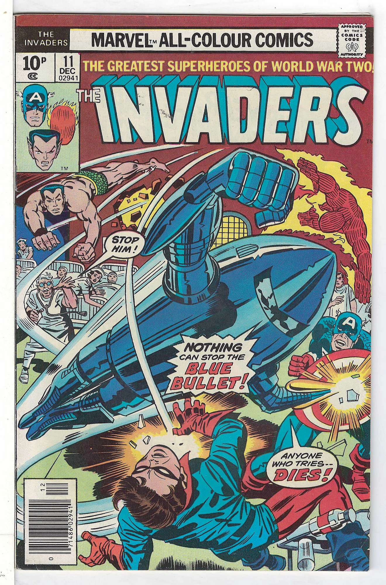 Cover of Invaders (Vol 1) #11. One of 250,000 Vintage American Comics on sale from Krypton!