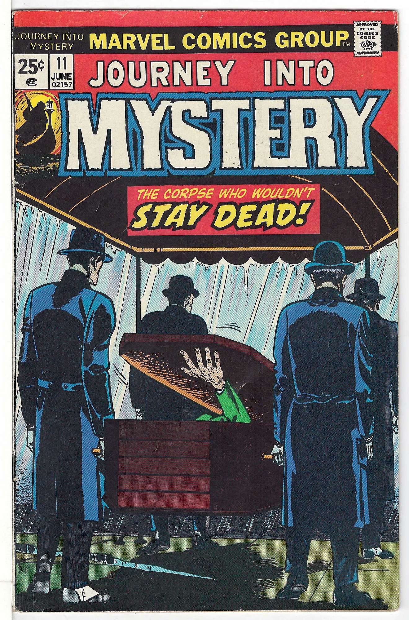 Cover of Journey Into Mystery (Vol 2) #11. One of 250,000 Vintage American Comics on sale from Krypton!