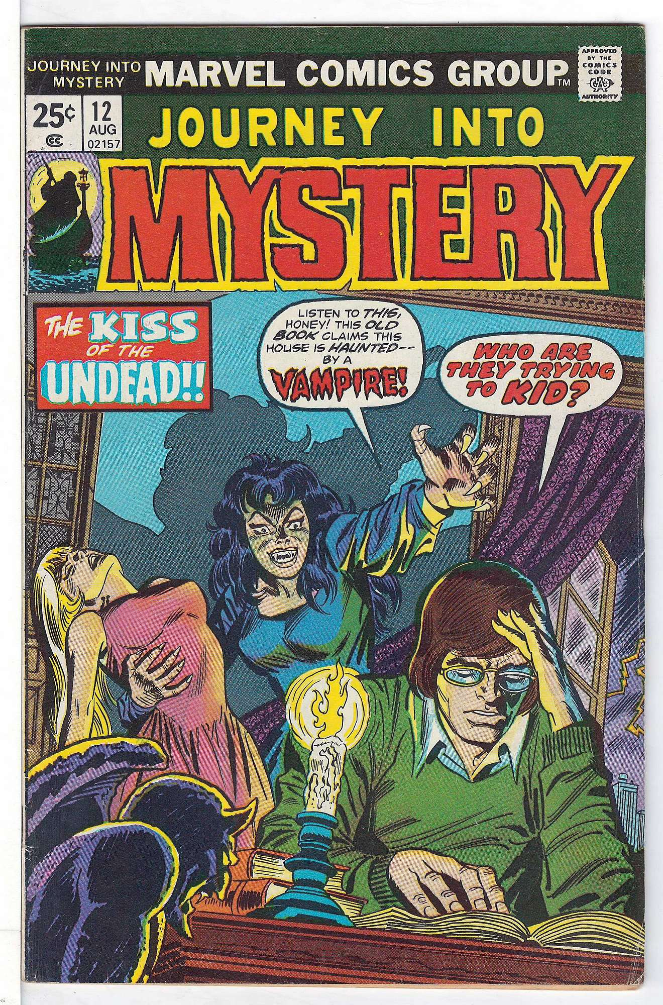 Cover of Journey Into Mystery (Vol 2) #12. One of 250,000 Vintage American Comics on sale from Krypton!