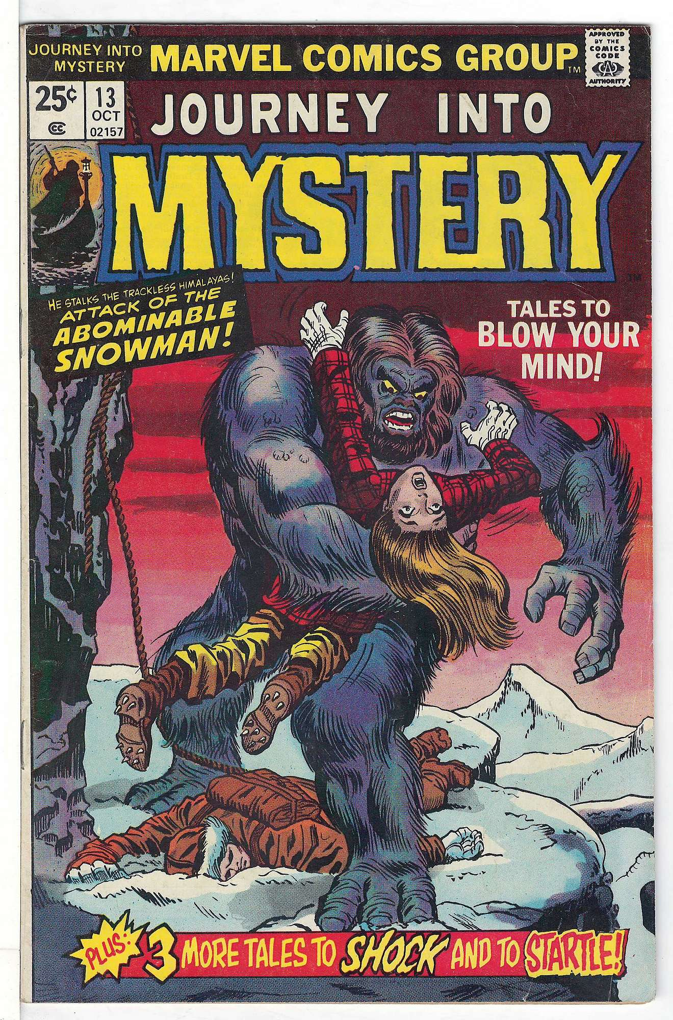 Cover of Journey Into Mystery (Vol 2) #13. One of 250,000 Vintage American Comics on sale from Krypton!