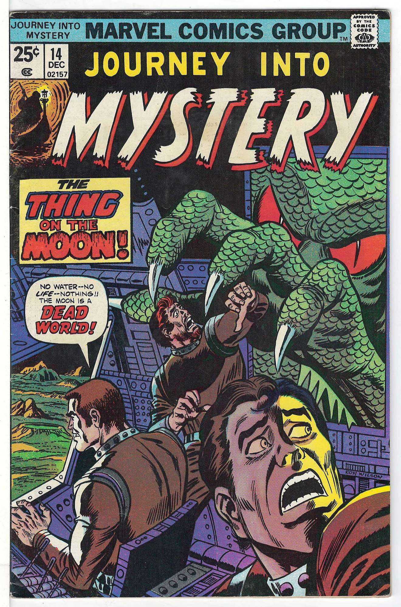 Cover of Journey Into Mystery (Vol 2) #14. One of 250,000 Vintage American Comics on sale from Krypton!