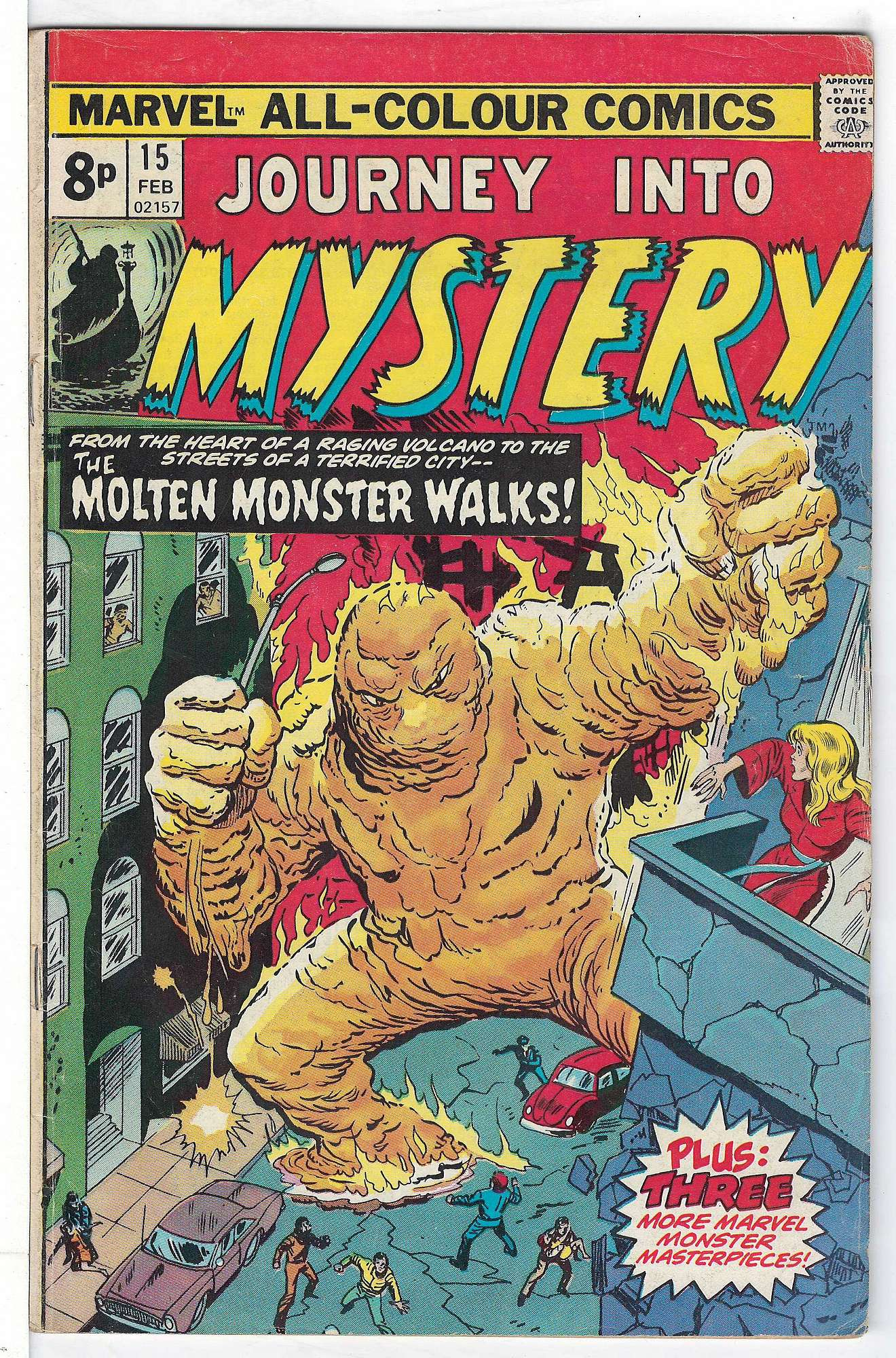 Cover of Journey Into Mystery (Vol 2) #15. One of 250,000 Vintage American Comics on sale from Krypton!