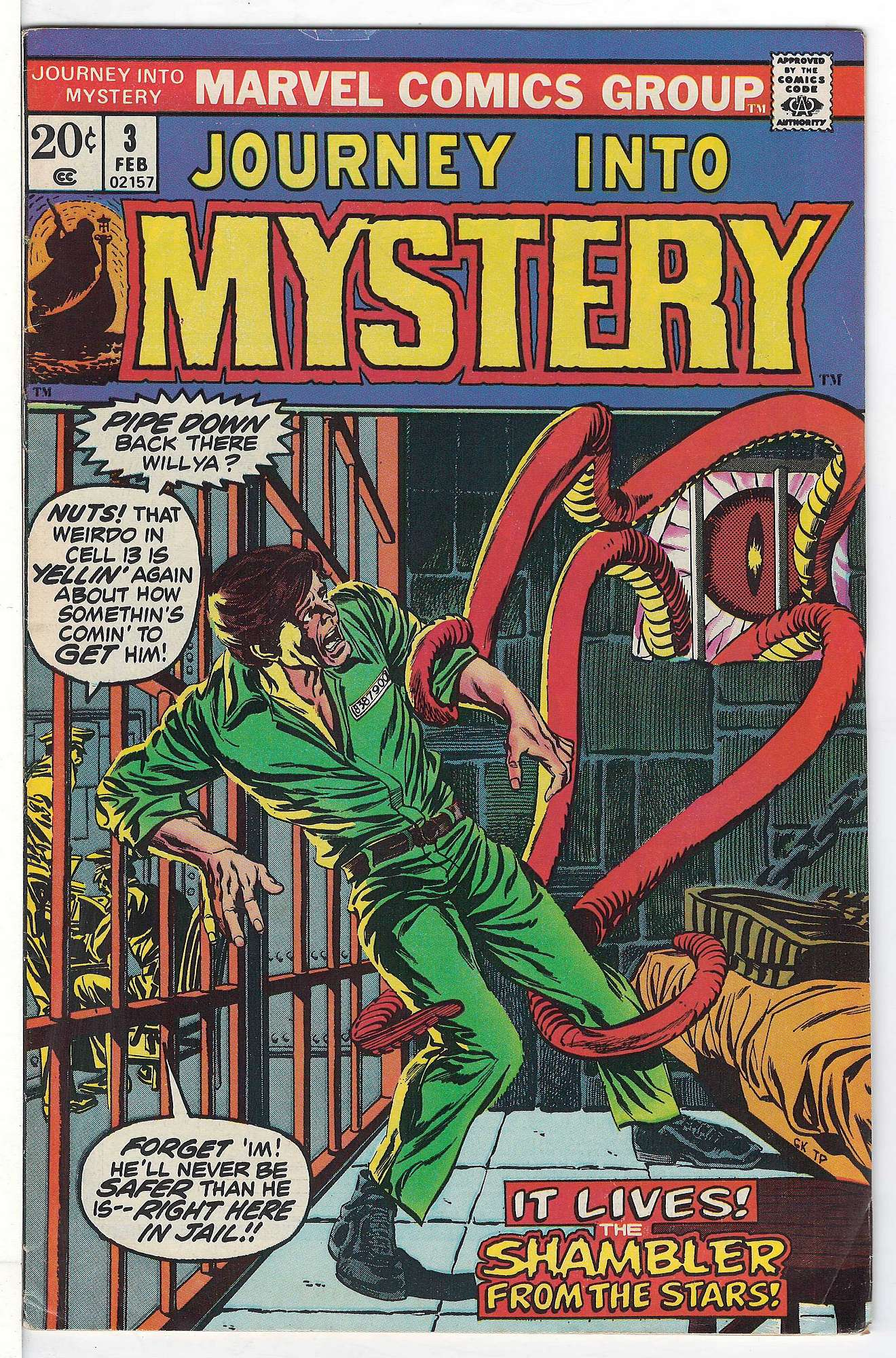 Cover of Journey Into Mystery (Vol 2) #3. One of 250,000 Vintage American Comics on sale from Krypton!