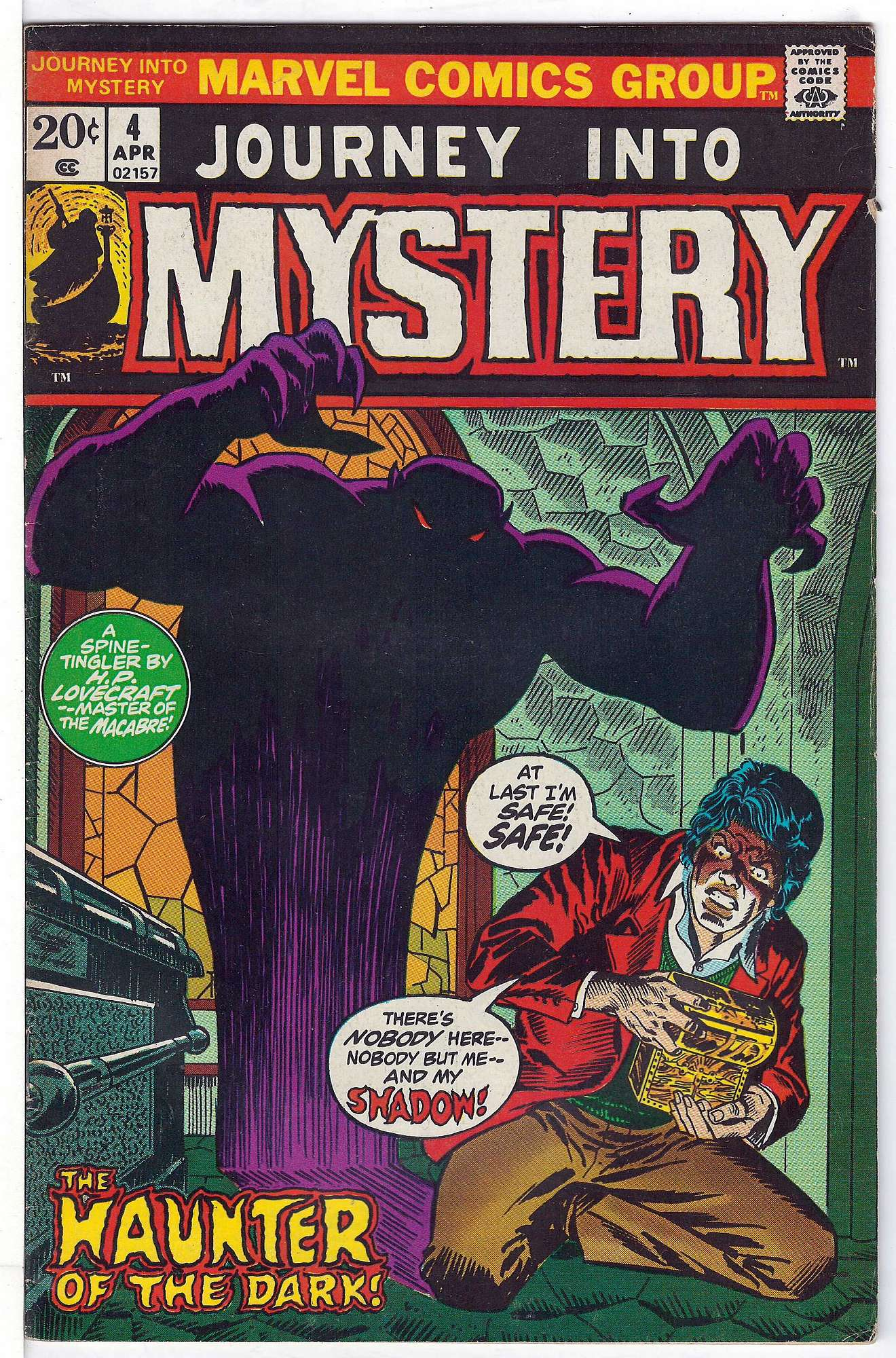 Cover of Journey Into Mystery (Vol 2) #4. One of 250,000 Vintage American Comics on sale from Krypton!