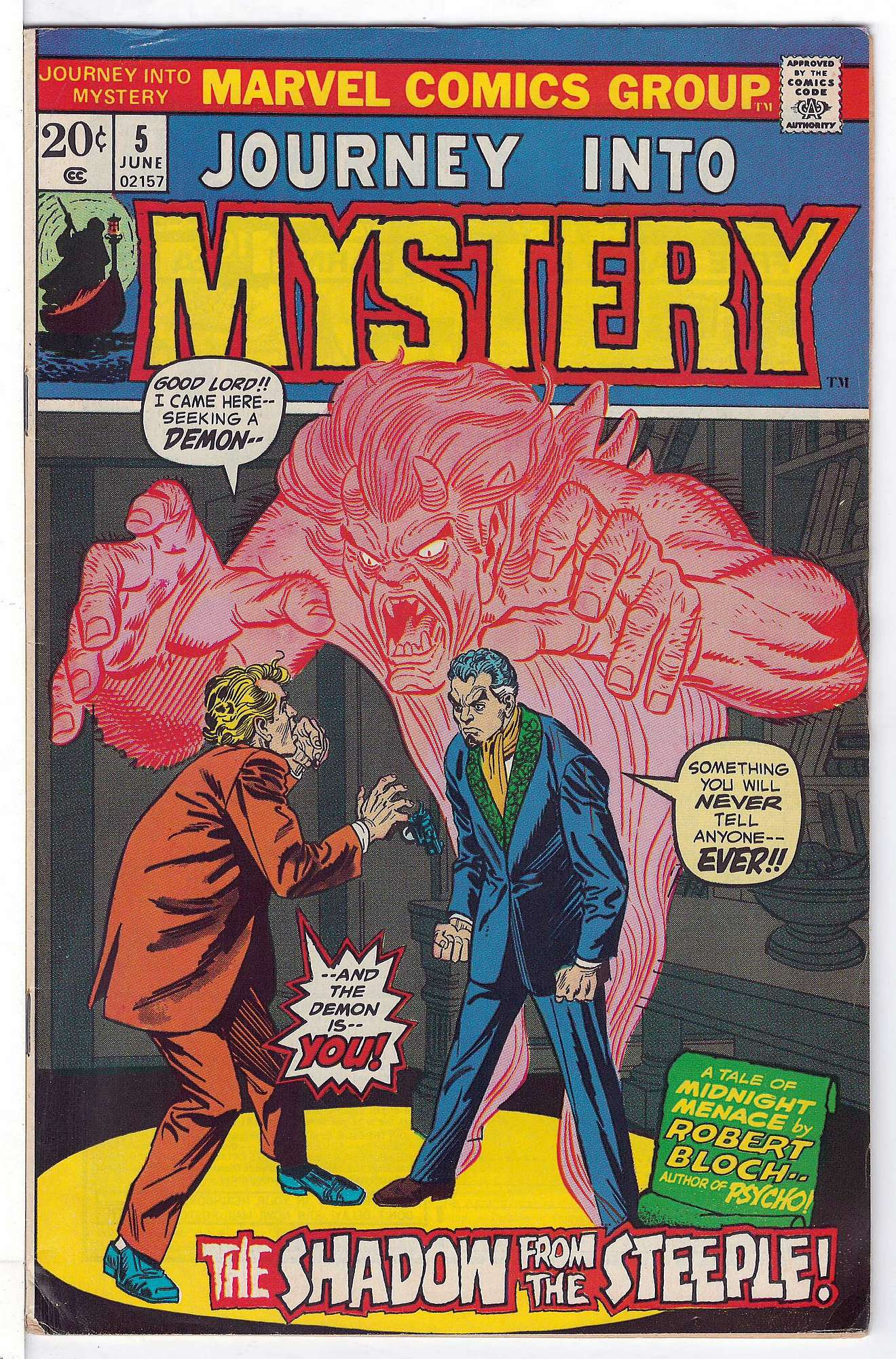 Cover of Journey Into Mystery (Vol 2) #5. One of 250,000 Vintage American Comics on sale from Krypton!