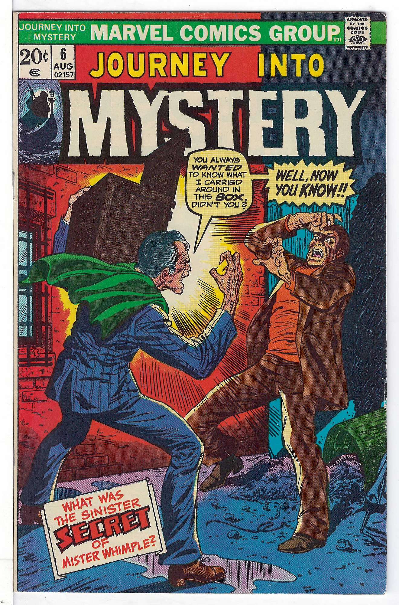 Cover of Journey Into Mystery (Vol 2) #6. One of 250,000 Vintage American Comics on sale from Krypton!