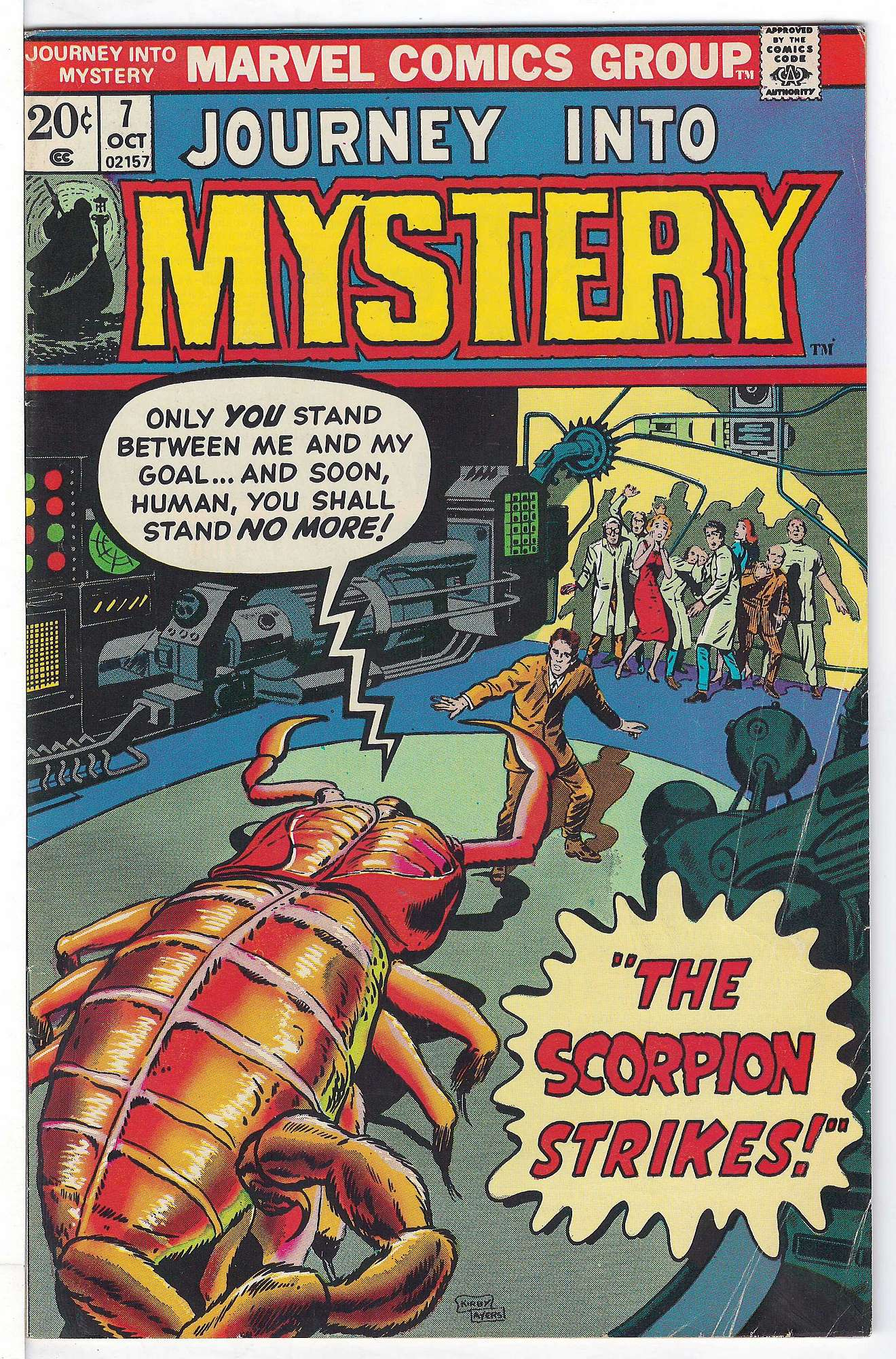 Cover of Journey Into Mystery (Vol 2) #7. One of 250,000 Vintage American Comics on sale from Krypton!