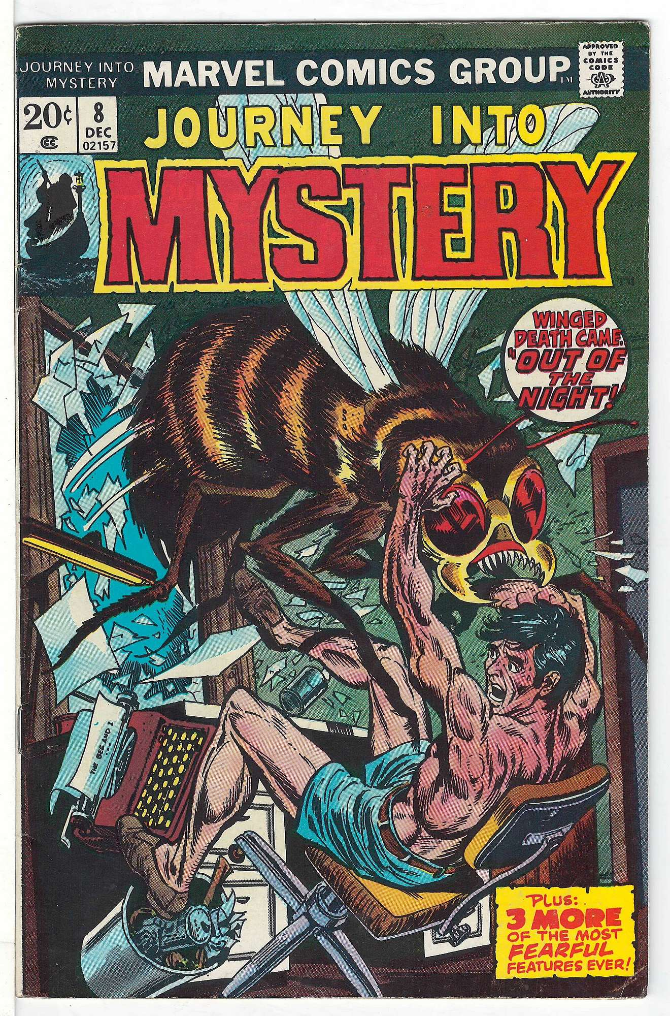 Cover of Journey Into Mystery (Vol 2) #8. One of 250,000 Vintage American Comics on sale from Krypton!