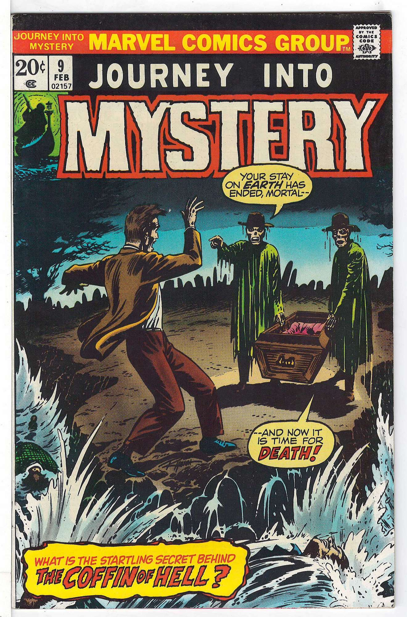 Cover of Journey Into Mystery (Vol 2) #9. One of 250,000 Vintage American Comics on sale from Krypton!