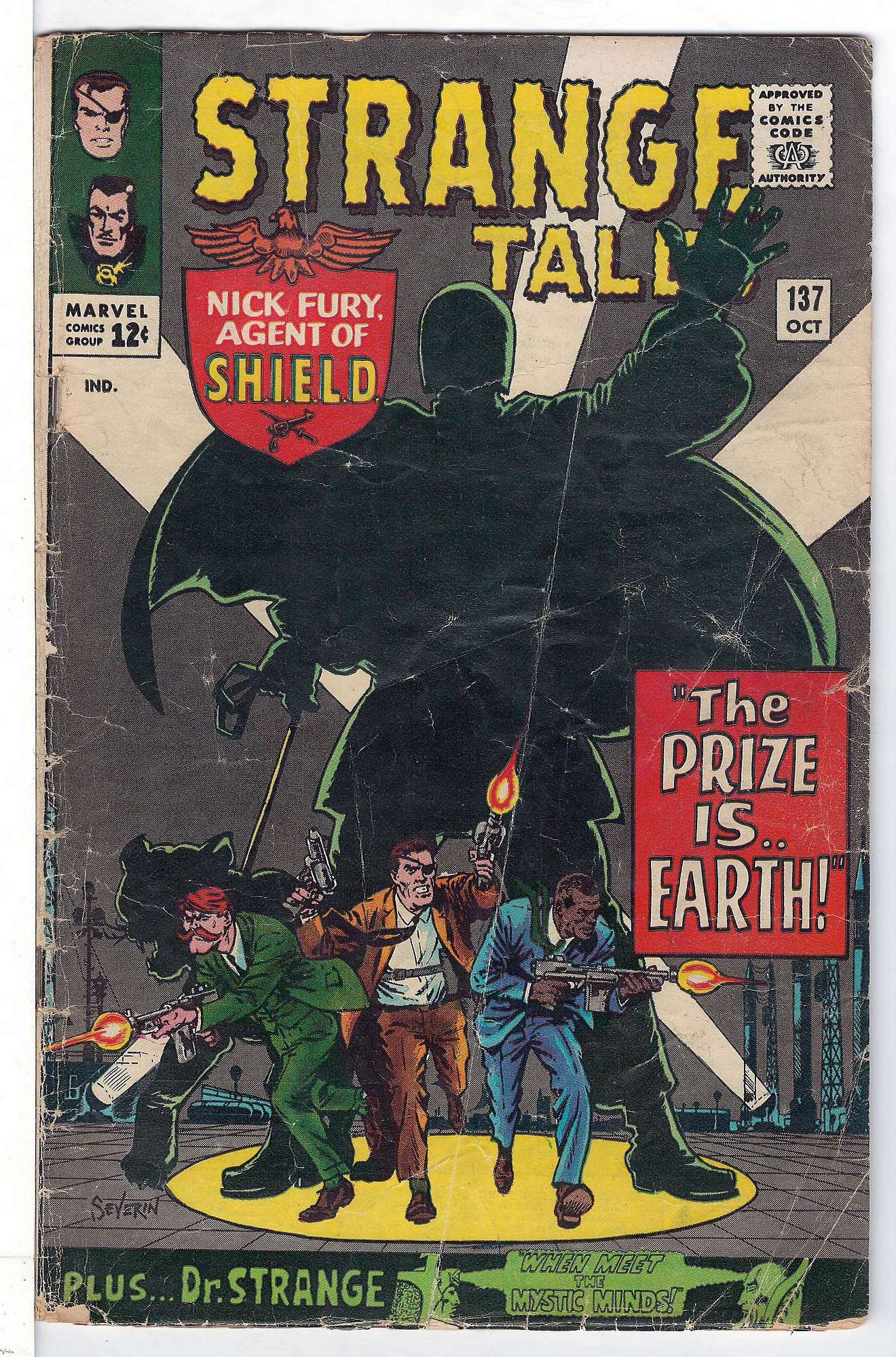 Cover of Strange Tales (Vol 1) #137. One of 250,000 Vintage American Comics on sale from Krypton!