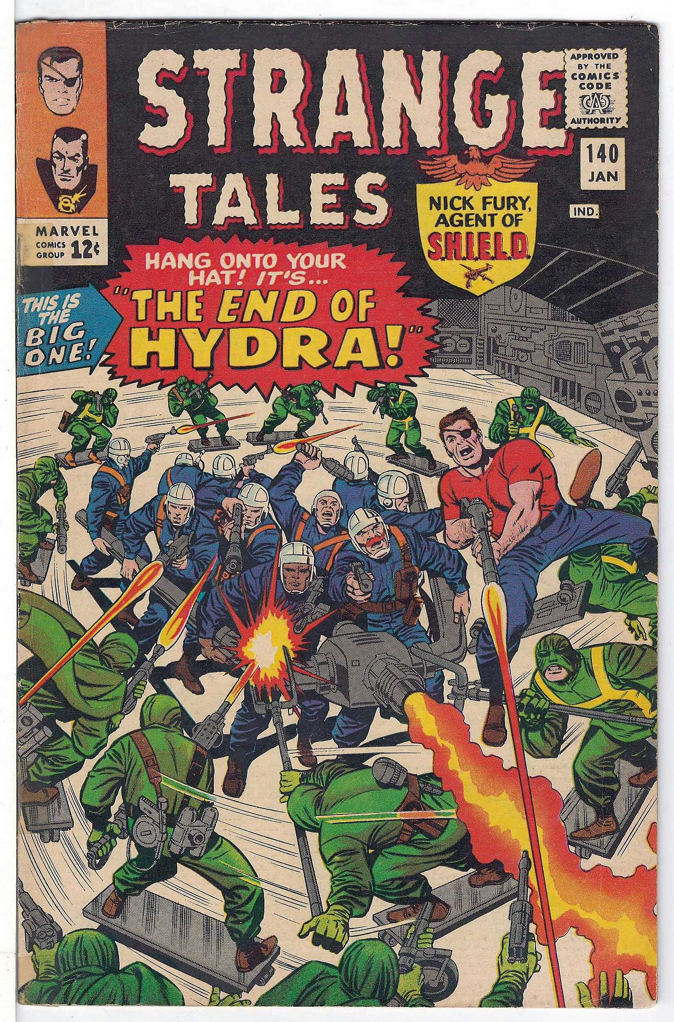 Cover of Strange Tales (Vol 1) #140. One of 250,000 Vintage American Comics on sale from Krypton!