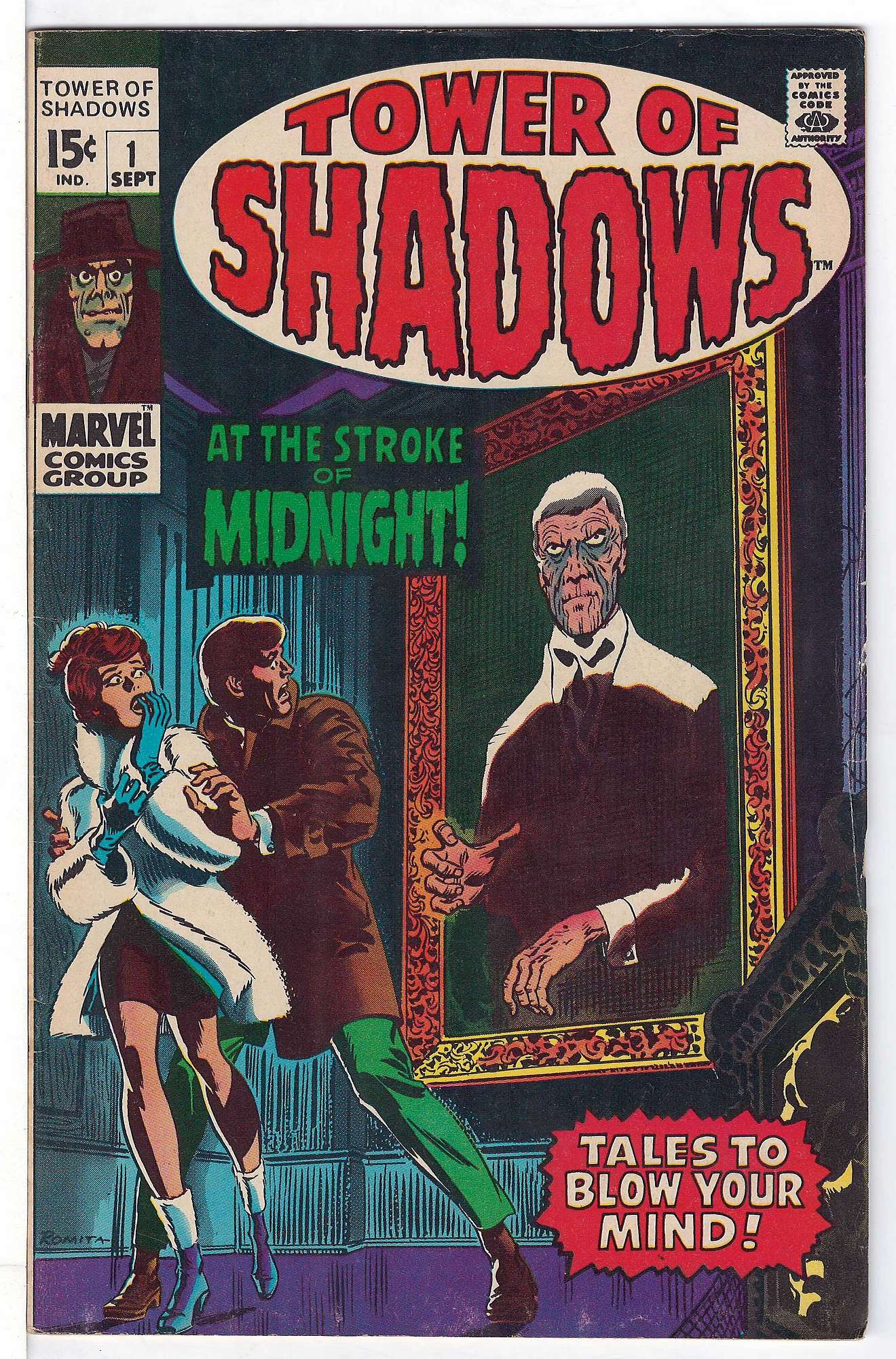 Cover of Tower of Shadows (Vol 1) #1. One of 250,000 Vintage American Comics on sale from Krypton!