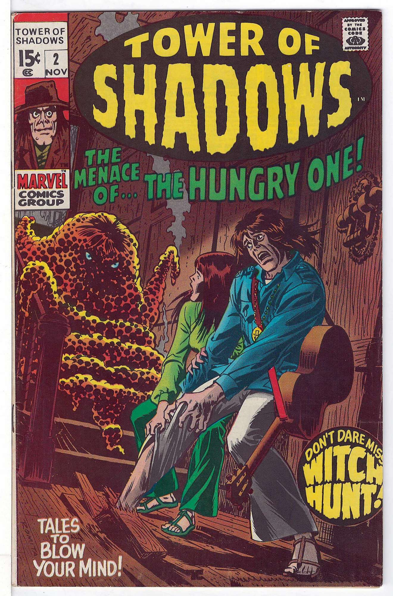 Cover of Tower of Shadows (Vol 1) #2. One of 250,000 Vintage American Comics on sale from Krypton!