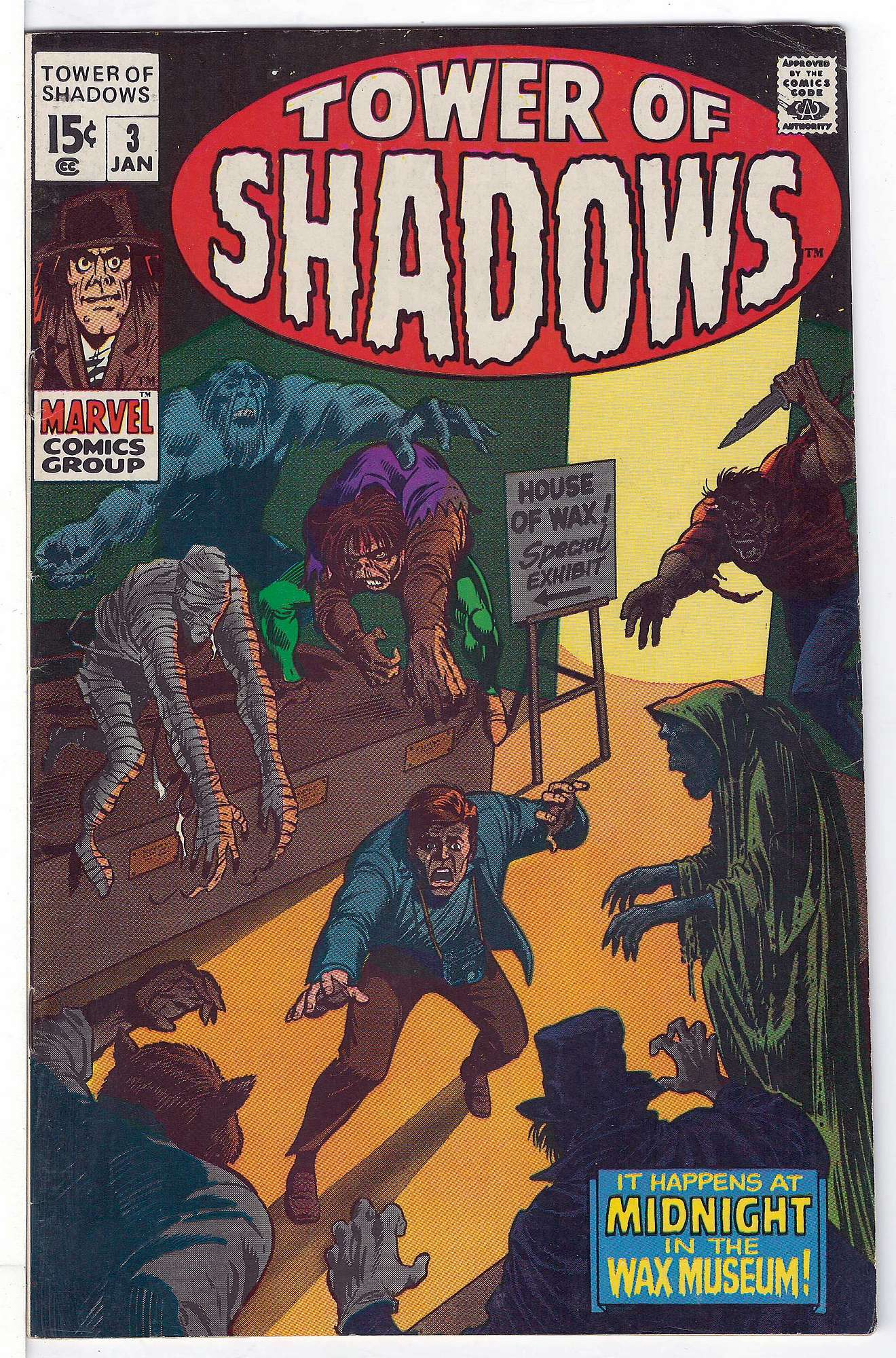 Cover of Tower of Shadows (Vol 1) #3. One of 250,000 Vintage American Comics on sale from Krypton!