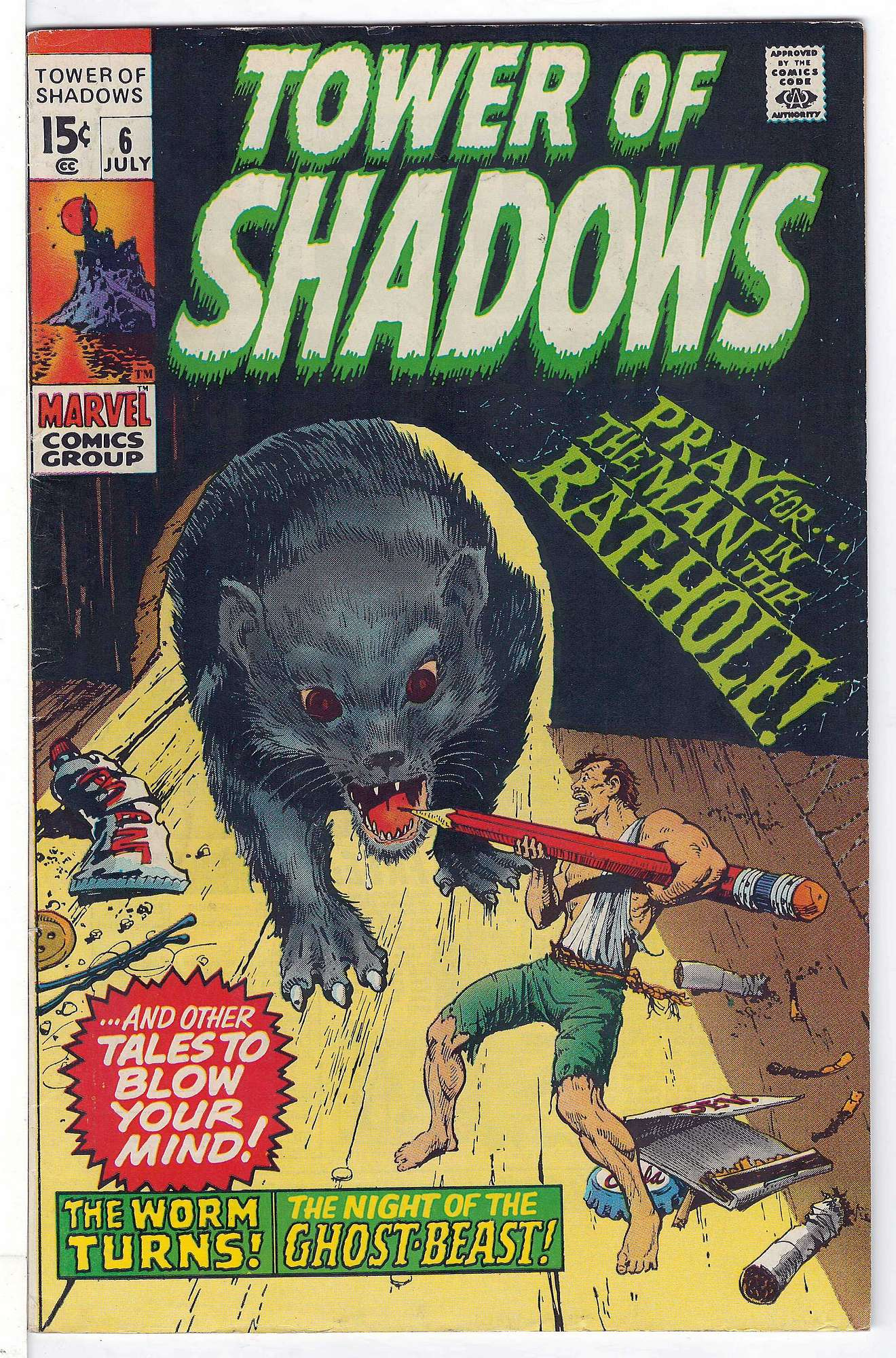 Cover of Tower of Shadows (Vol 1) #6. One of 250,000 Vintage American Comics on sale from Krypton!