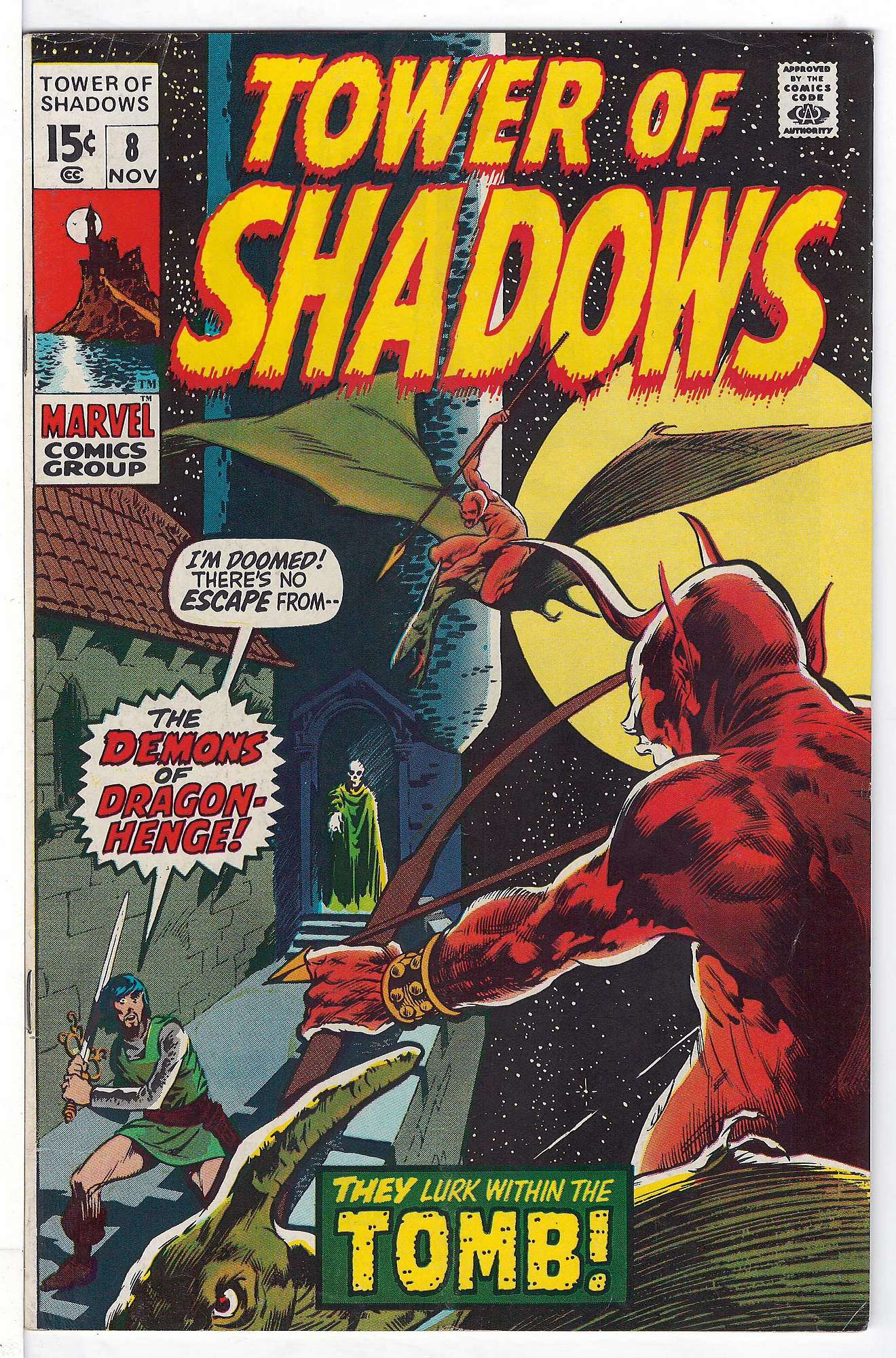 Cover of Tower of Shadows (Vol 1) #8. One of 250,000 Vintage American Comics on sale from Krypton!