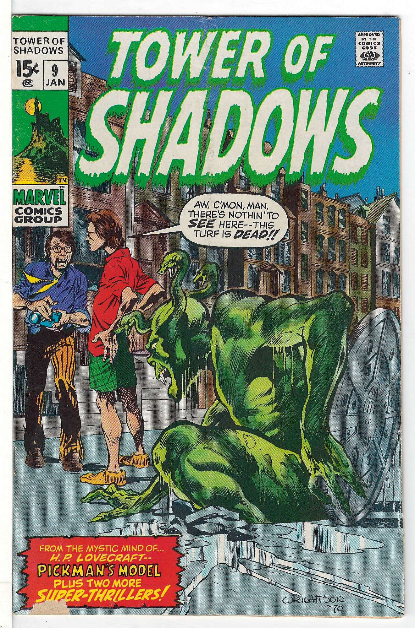 Cover of Tower of Shadows (Vol 1) #9. One of 250,000 Vintage American Comics on sale from Krypton!