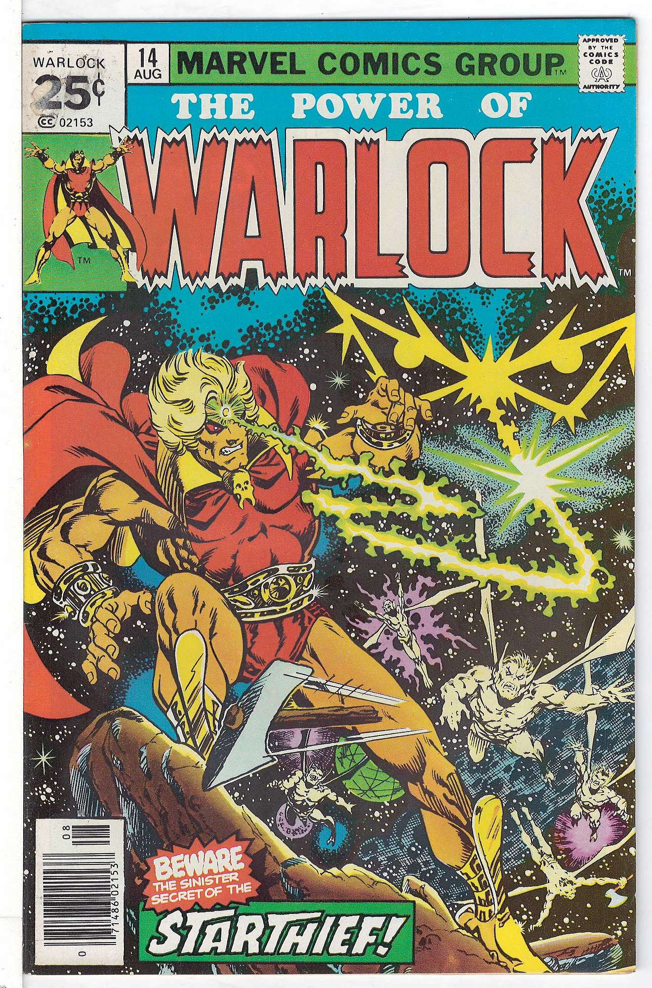 Cover of Warlock (Vol 1) The Power of #14. One of 250,000 Vintage American Comics on sale from Krypton!