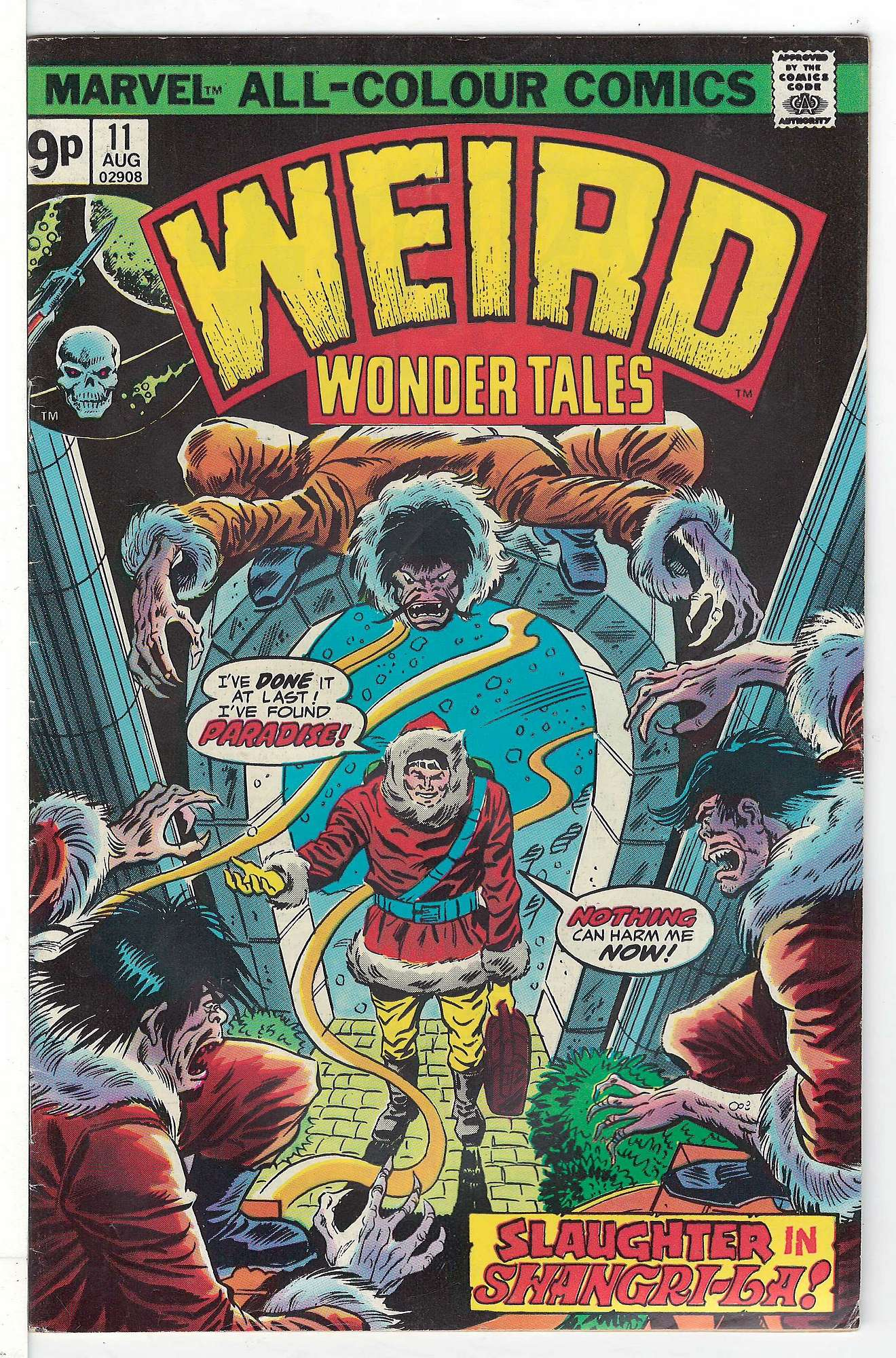 Cover of Weird Wonder Tales (Vol 1) #11. One of 250,000 Vintage American Comics on sale from Krypton!