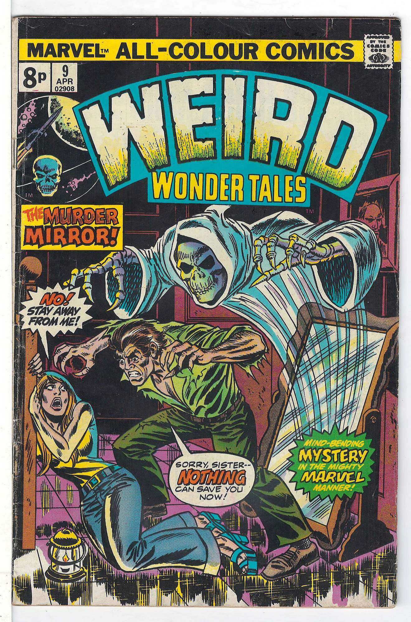 Cover of Weird Wonder Tales (Vol 1) #9. One of 250,000 Vintage American Comics on sale from Krypton!