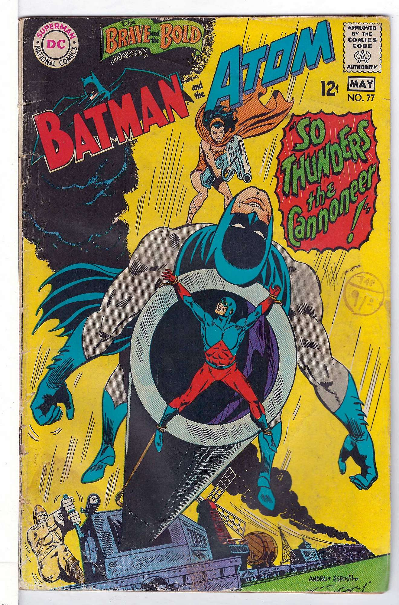 Cover of Brave & The Bold (Vol 1) #77. One of 250,000 Vintage American Comics on sale from Krypton!