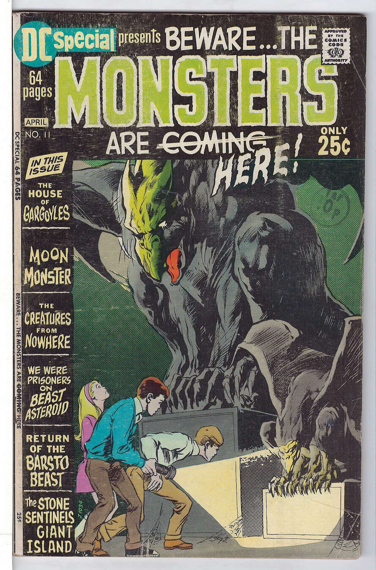 Cover of DC Special (Vol 1) #11. One of 250,000 Vintage American Comics on sale from Krypton!