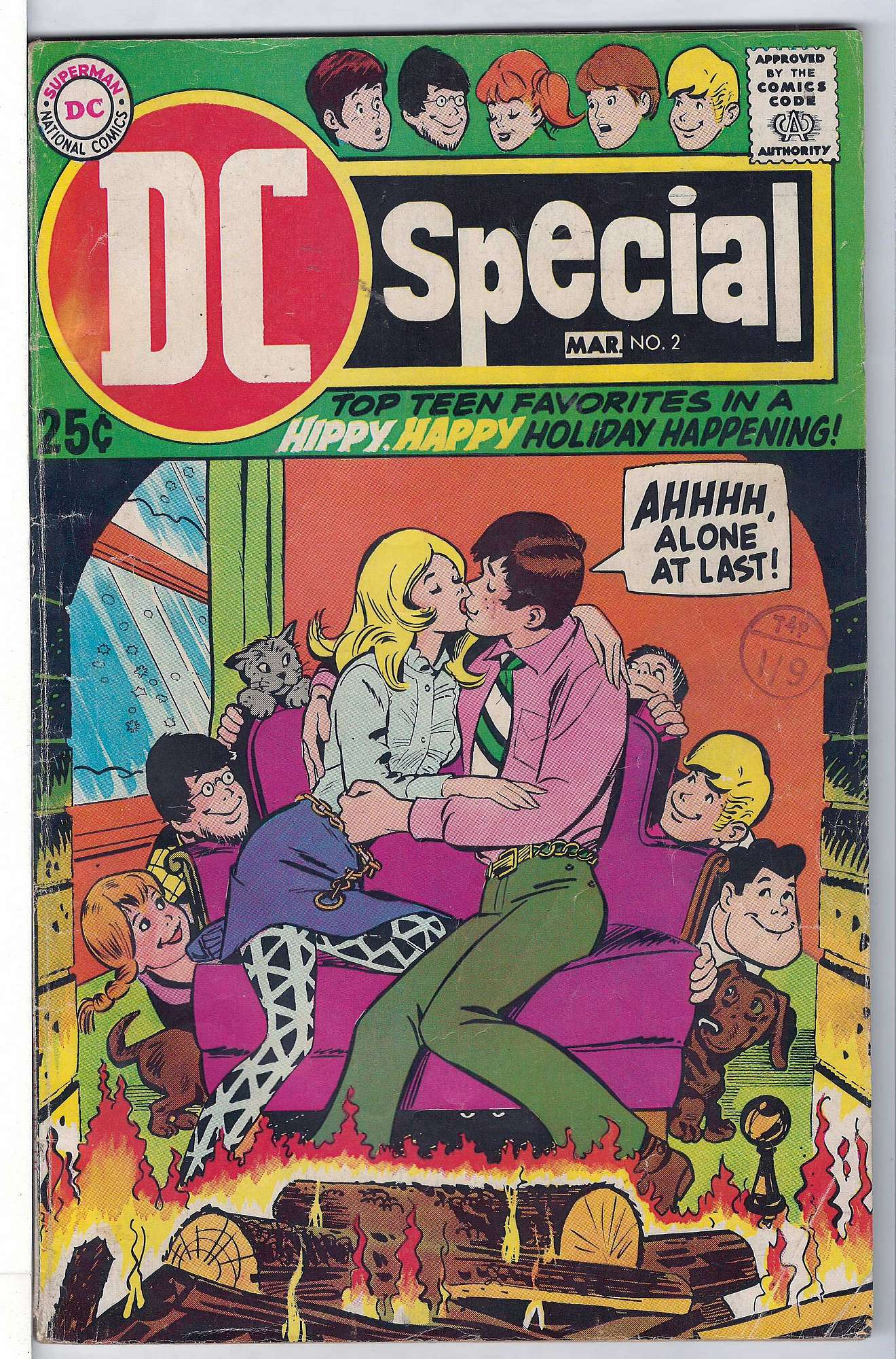 Cover of DC Special (Vol 1) #2. One of 250,000 Vintage American Comics on sale from Krypton!