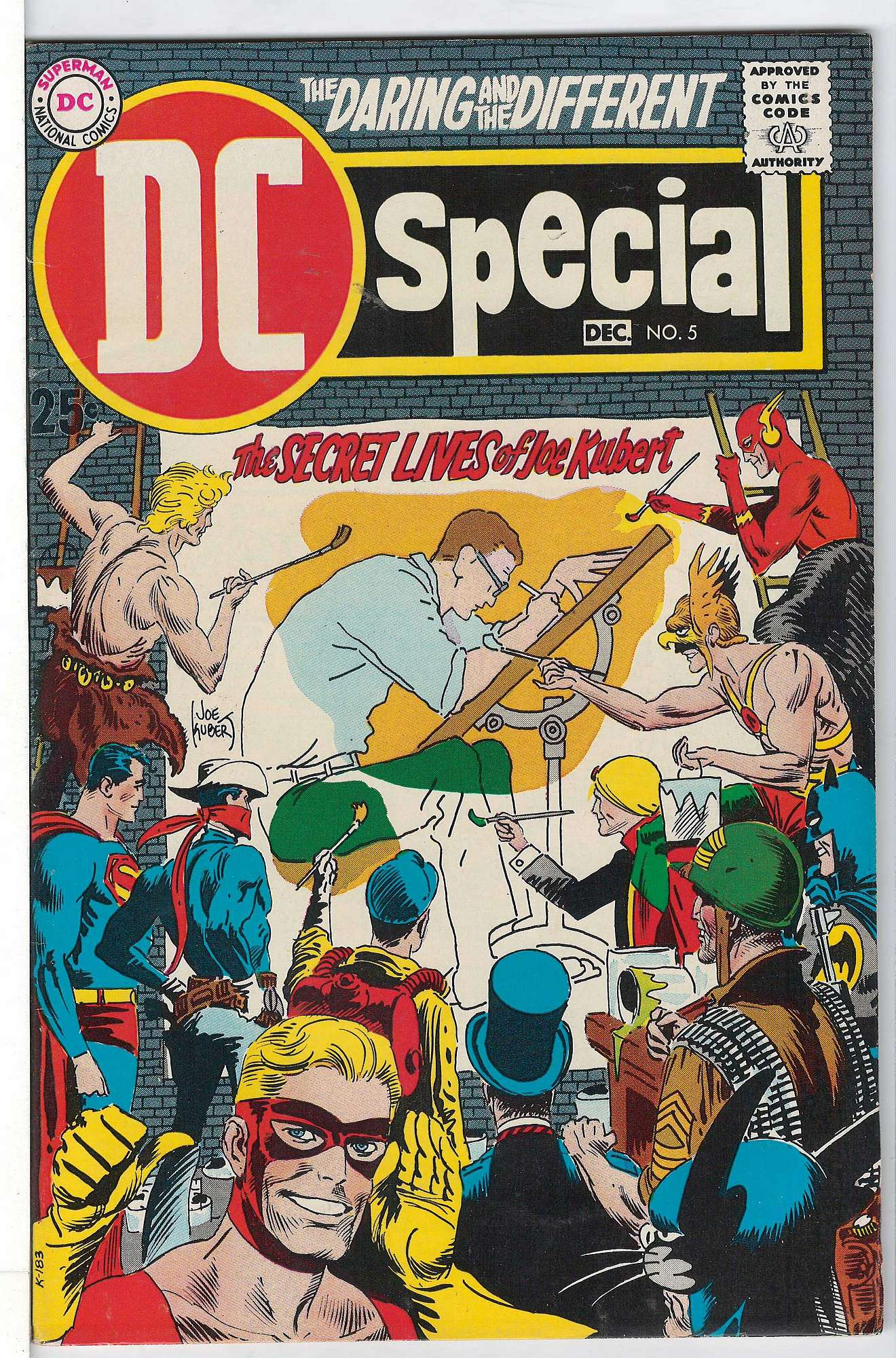Cover of DC Special (Vol 1) #5. One of 250,000 Vintage American Comics on sale from Krypton!