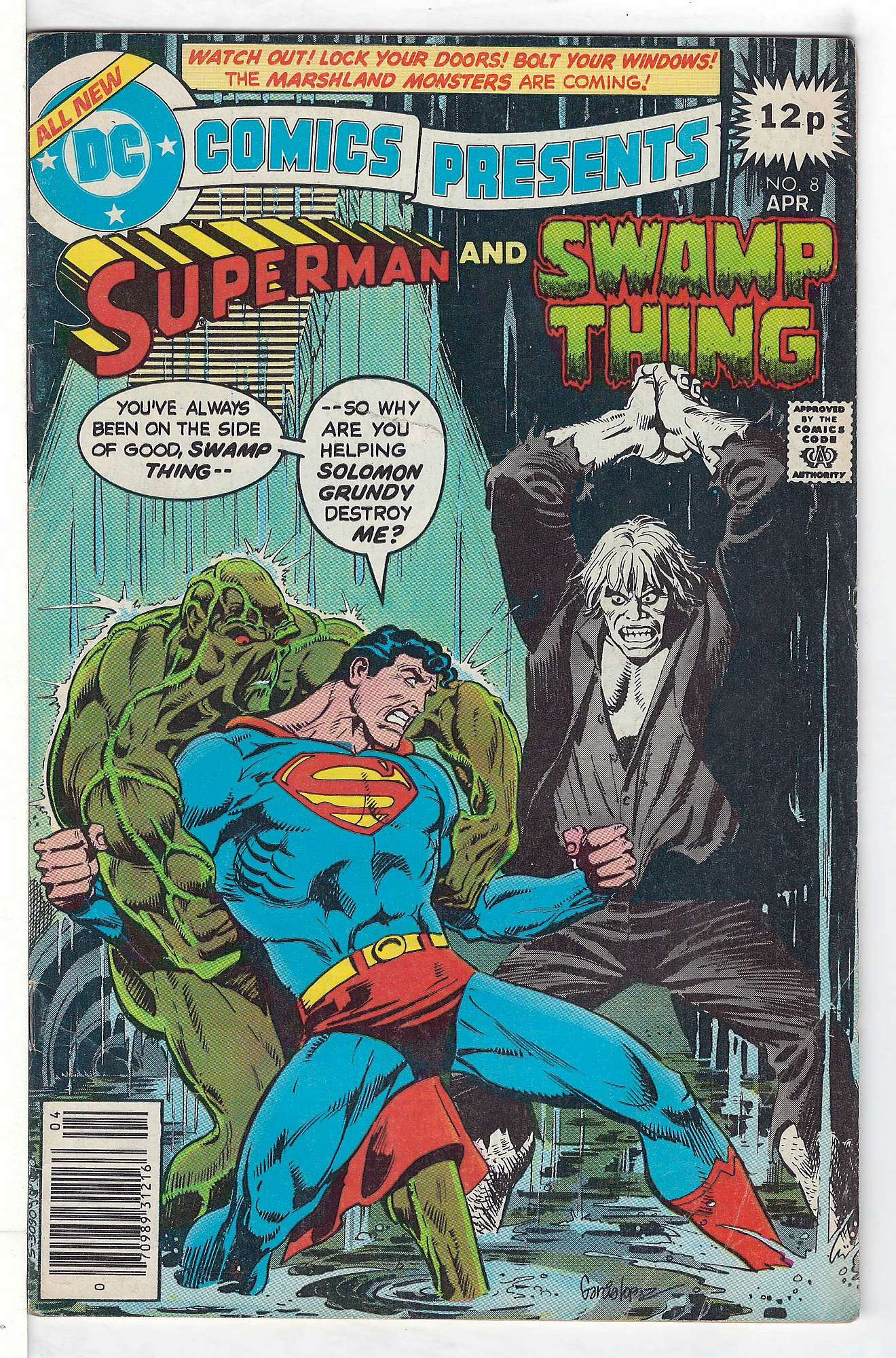 Cover of DC Comics Presents (Vol 1) #8. One of 250,000 Vintage American Comics on sale from Krypton!