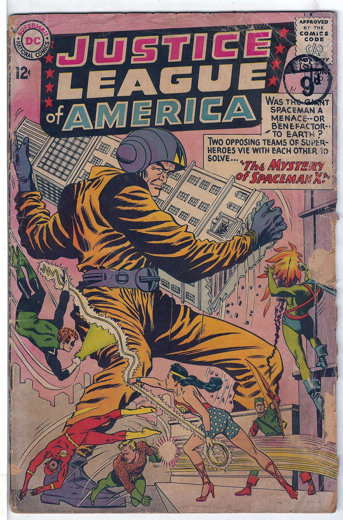Cover of Justice League of America (Vol 1) #20. One of 250,000 Vintage American Comics on sale from Krypton!