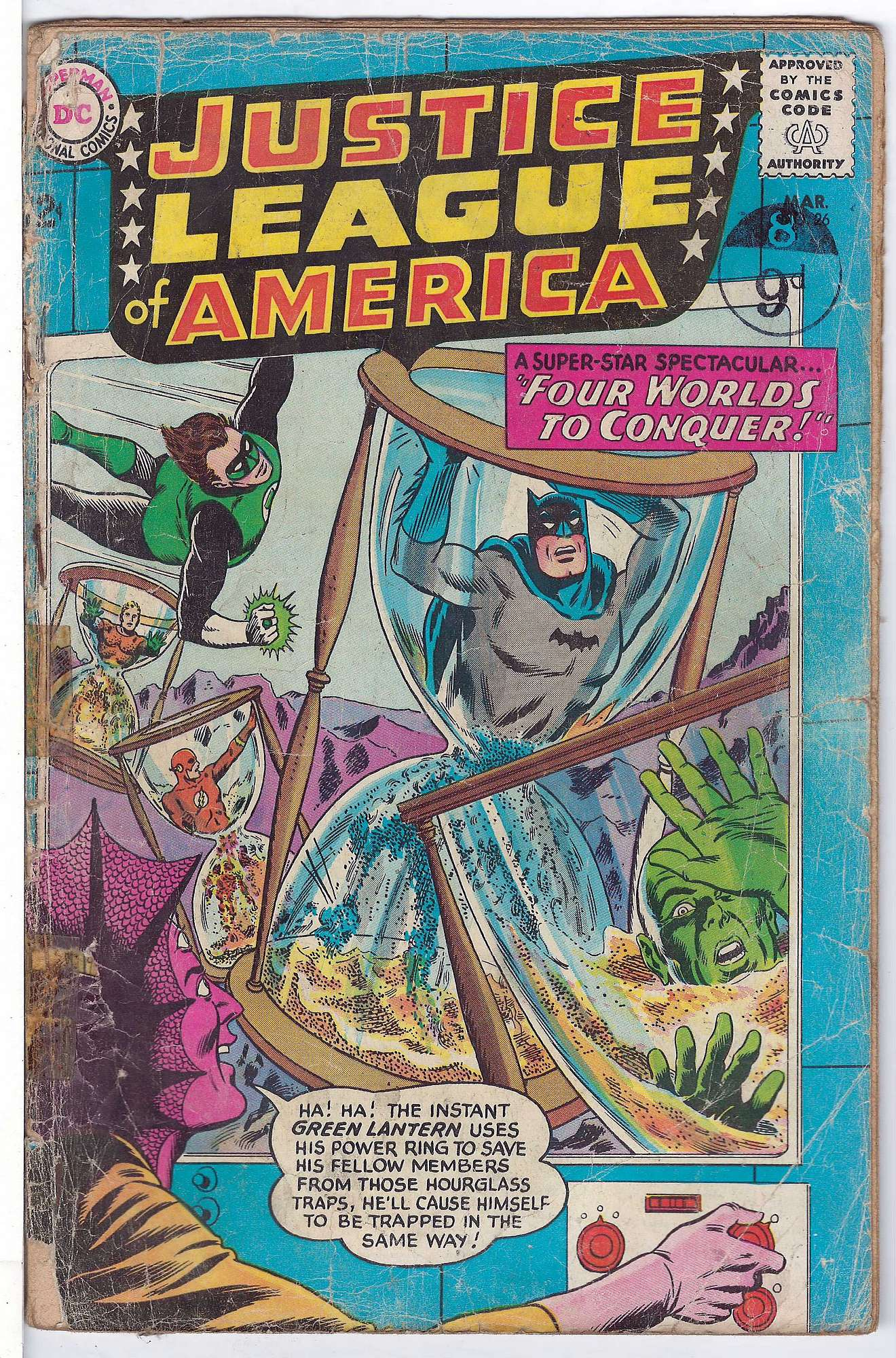 Cover of Justice League of America (Vol 1) #26. One of 250,000 Vintage American Comics on sale from Krypton!