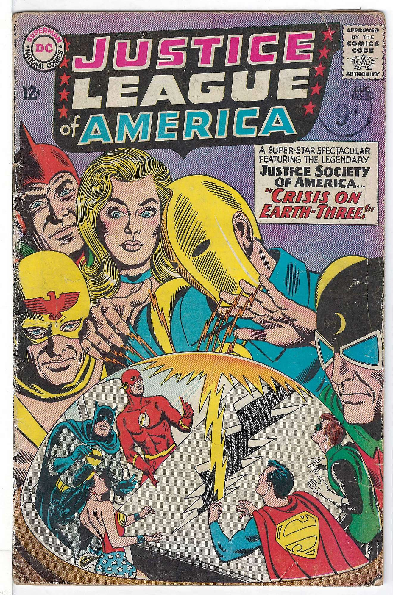 Cover of Justice League of America (Vol 1) #29. One of 250,000 Vintage American Comics on sale from Krypton!