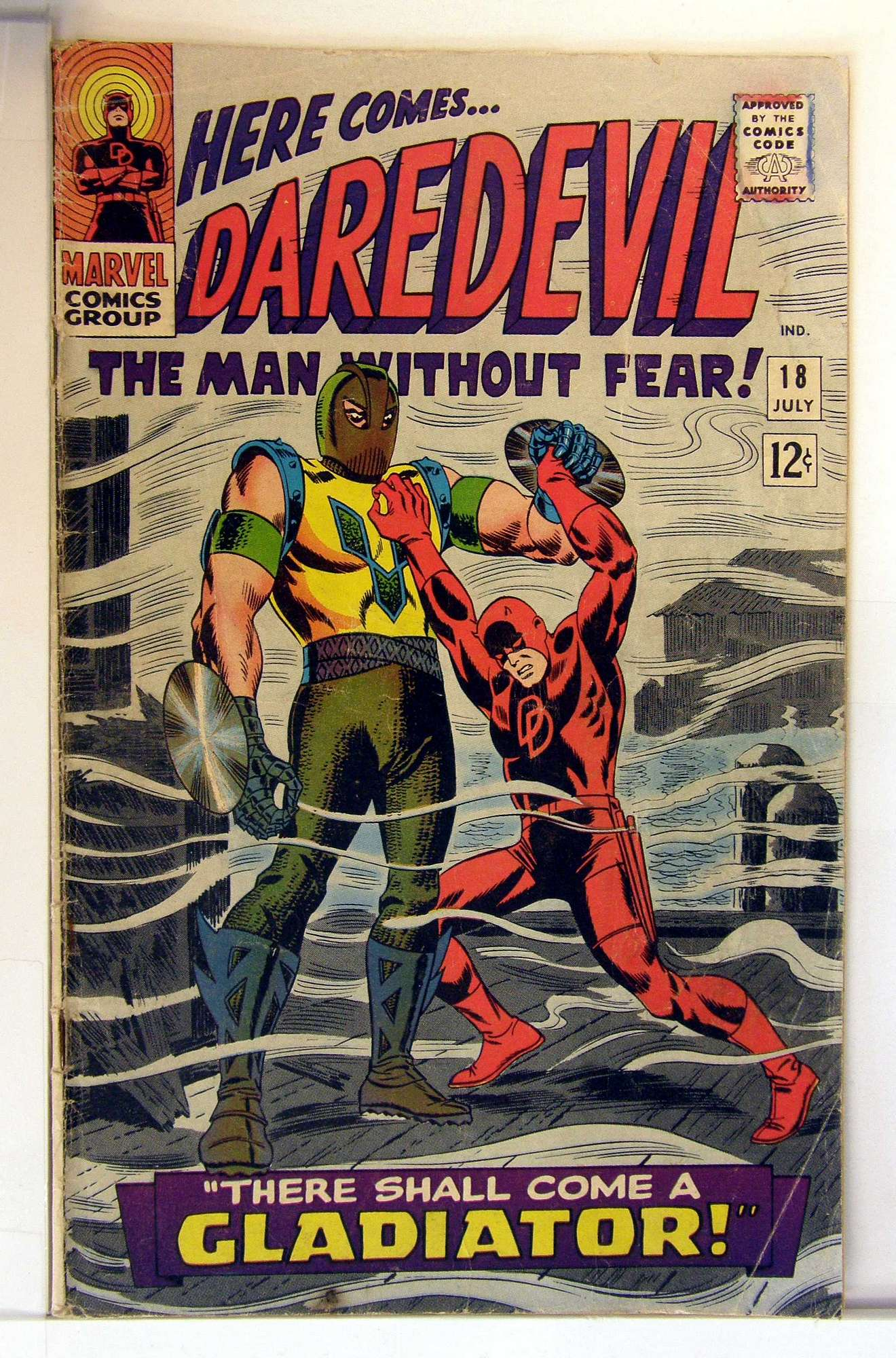 Cover of Daredevil (Vol 1) #18. One of 250,000 Vintage American Comics on sale from Krypton!