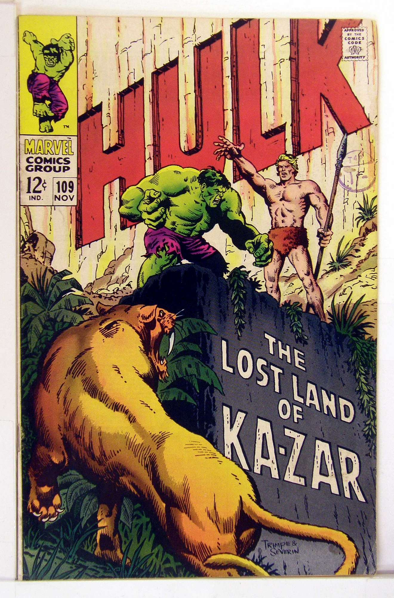 Cover of Incredible Hulk (Vol 2) #109. One of 250,000 Vintage American Comics on sale from Krypton!