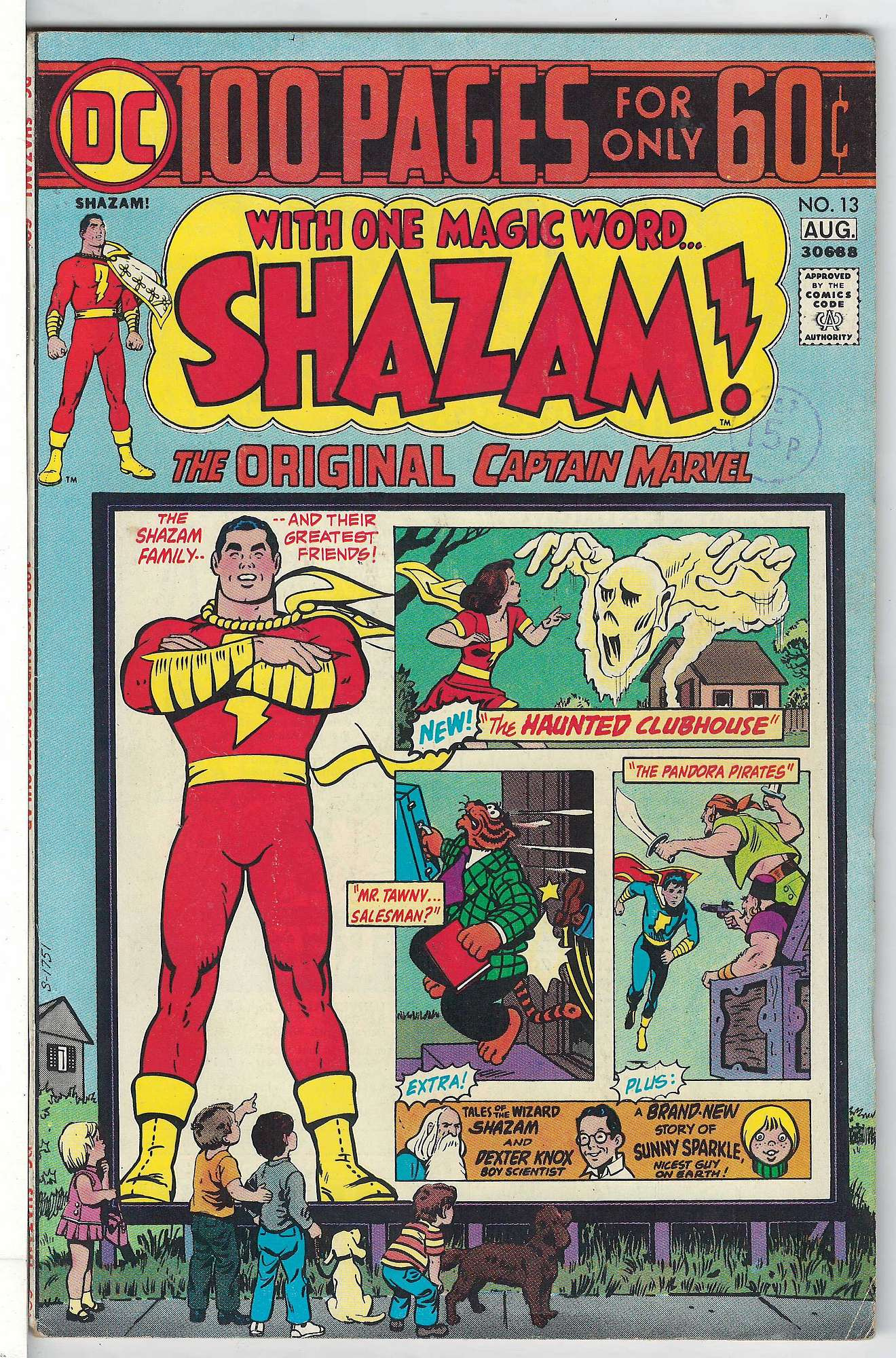 Cover of Shazam! (Vol 1) #13. One of 250,000 Vintage American Comics on sale from Krypton!