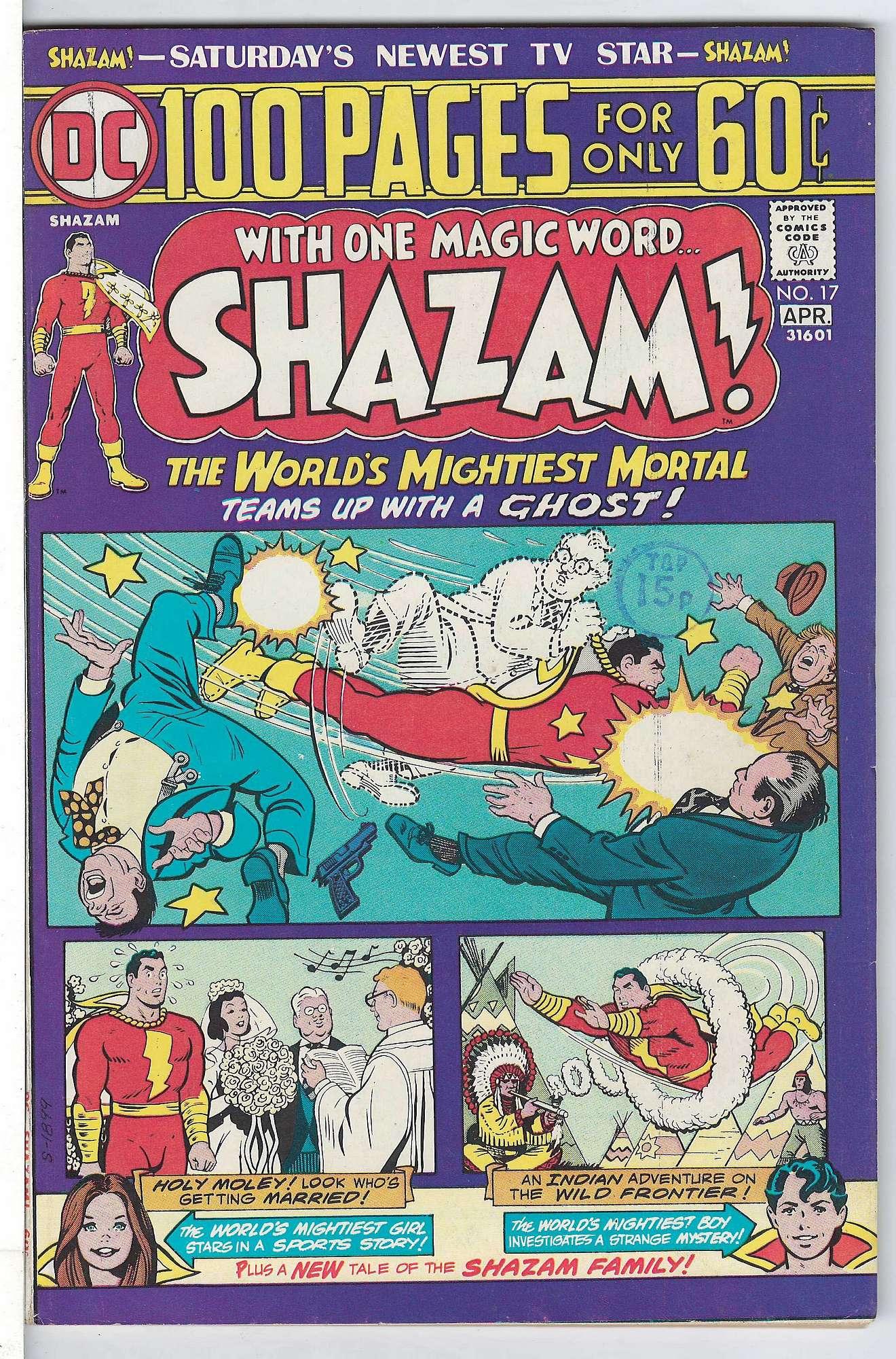 Cover of Shazam! (Vol 1) #17. One of 250,000 Vintage American Comics on sale from Krypton!