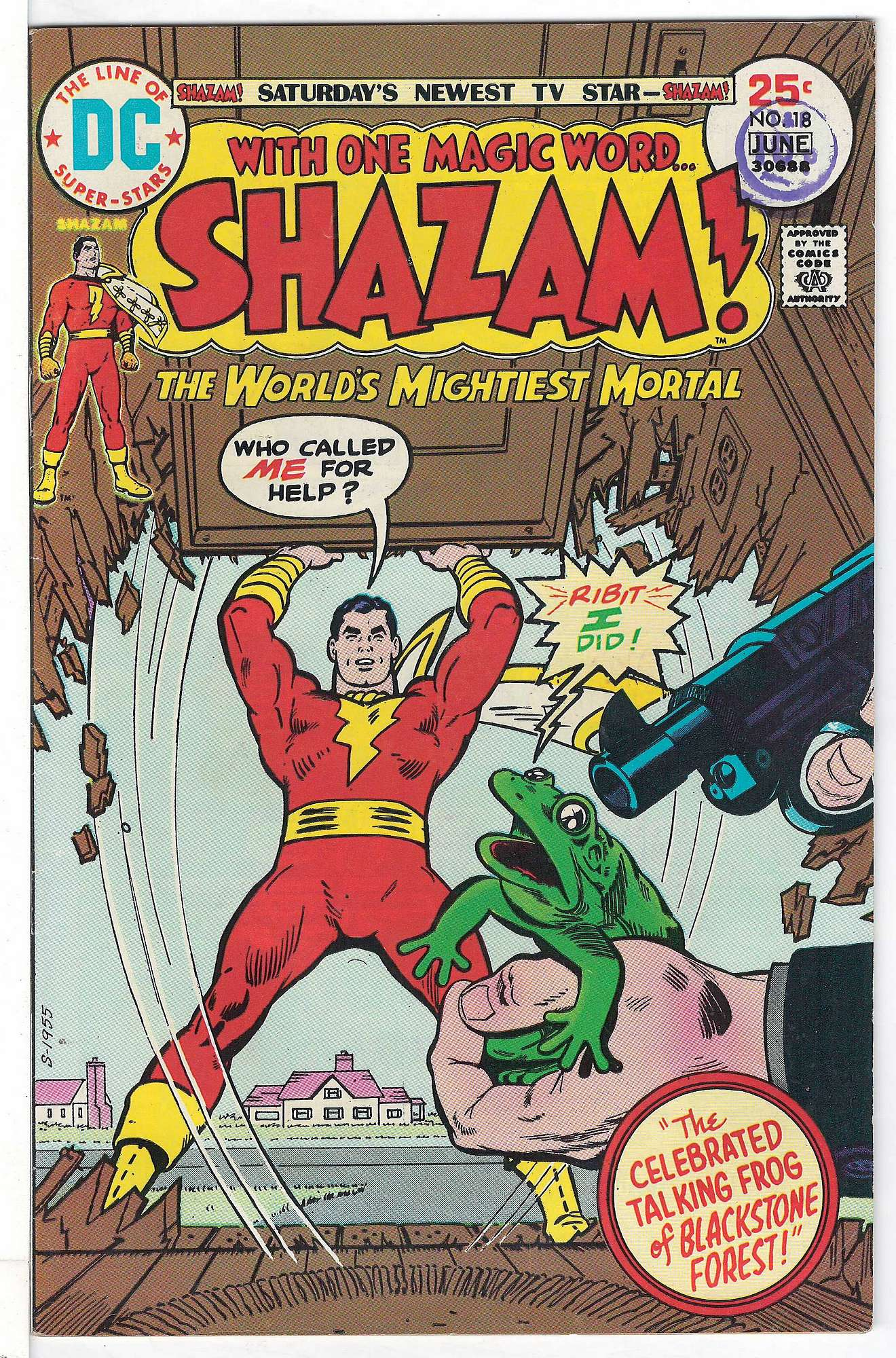 Cover of Shazam! (Vol 1) #18. One of 250,000 Vintage American Comics on sale from Krypton!
