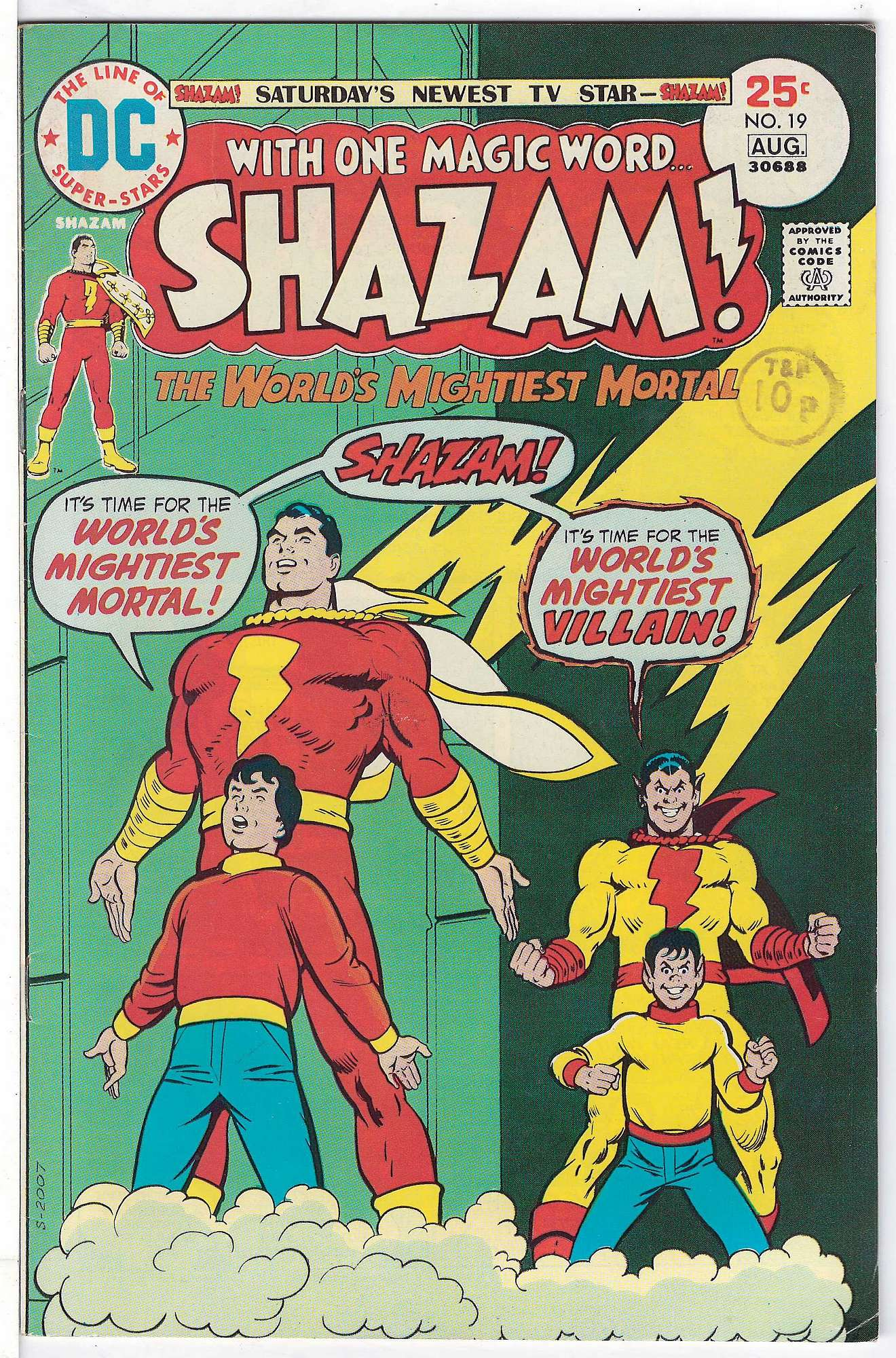 Cover of Shazam! (Vol 1) #19. One of 250,000 Vintage American Comics on sale from Krypton!