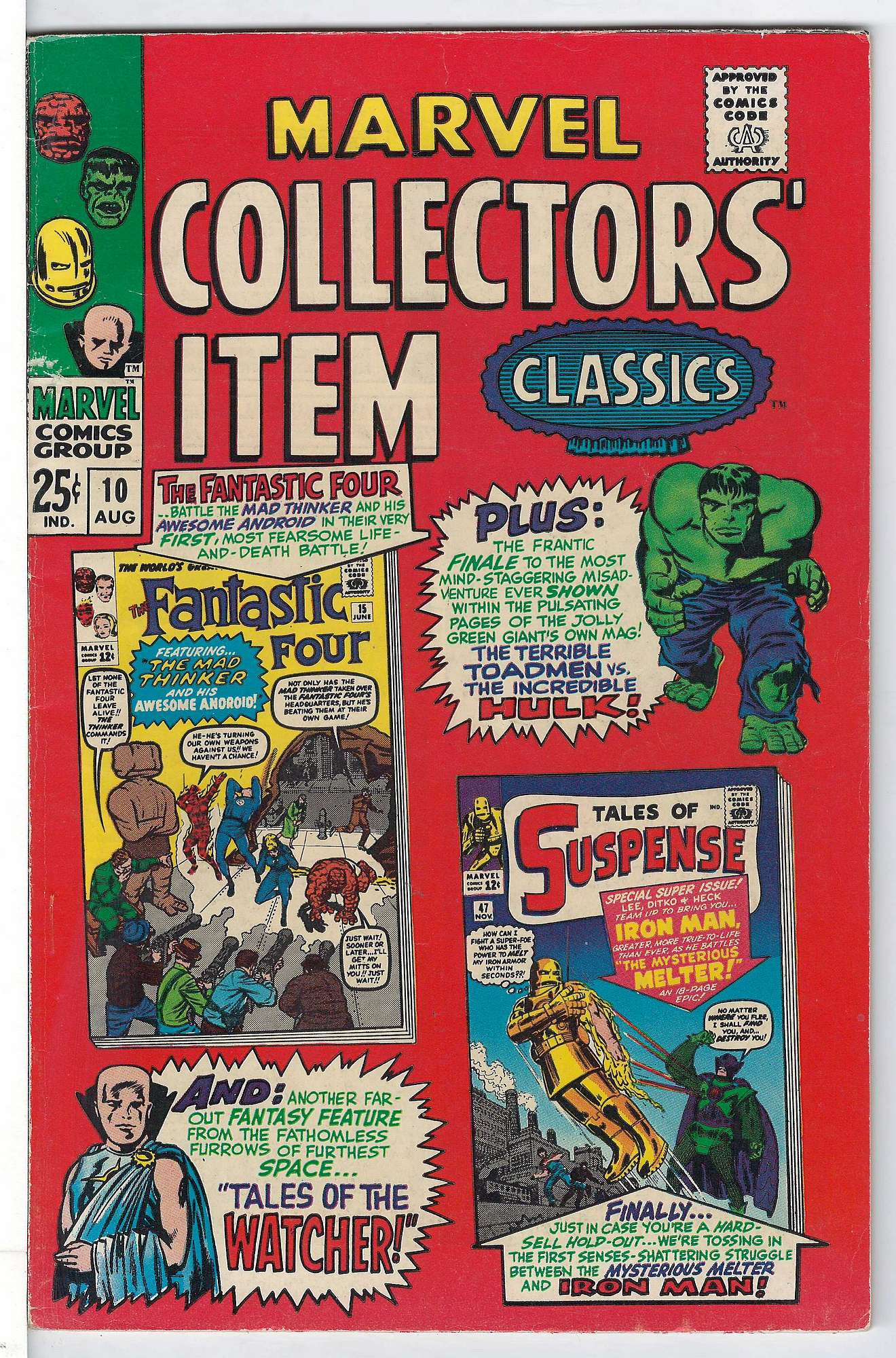 Cover of Marvel Collectors Item Classics (Vol 1) #10. One of 250,000 Vintage American Comics on sale from Krypton!
