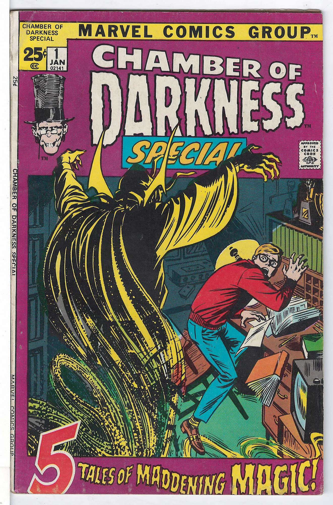 Cover of Chamber of Darkness (1972 One Shot) #1. One of 250,000 Vintage American Comics on sale from Krypton!