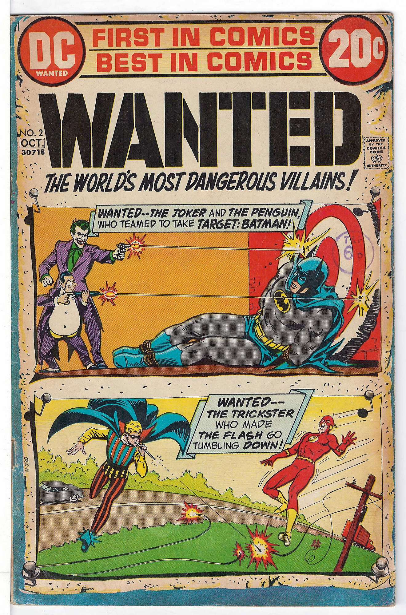 Cover of Wanted: Worlds Most Dangerous Villains (Vol 1) #2. One of 250,000 Vintage American Comics on sale from Krypton!